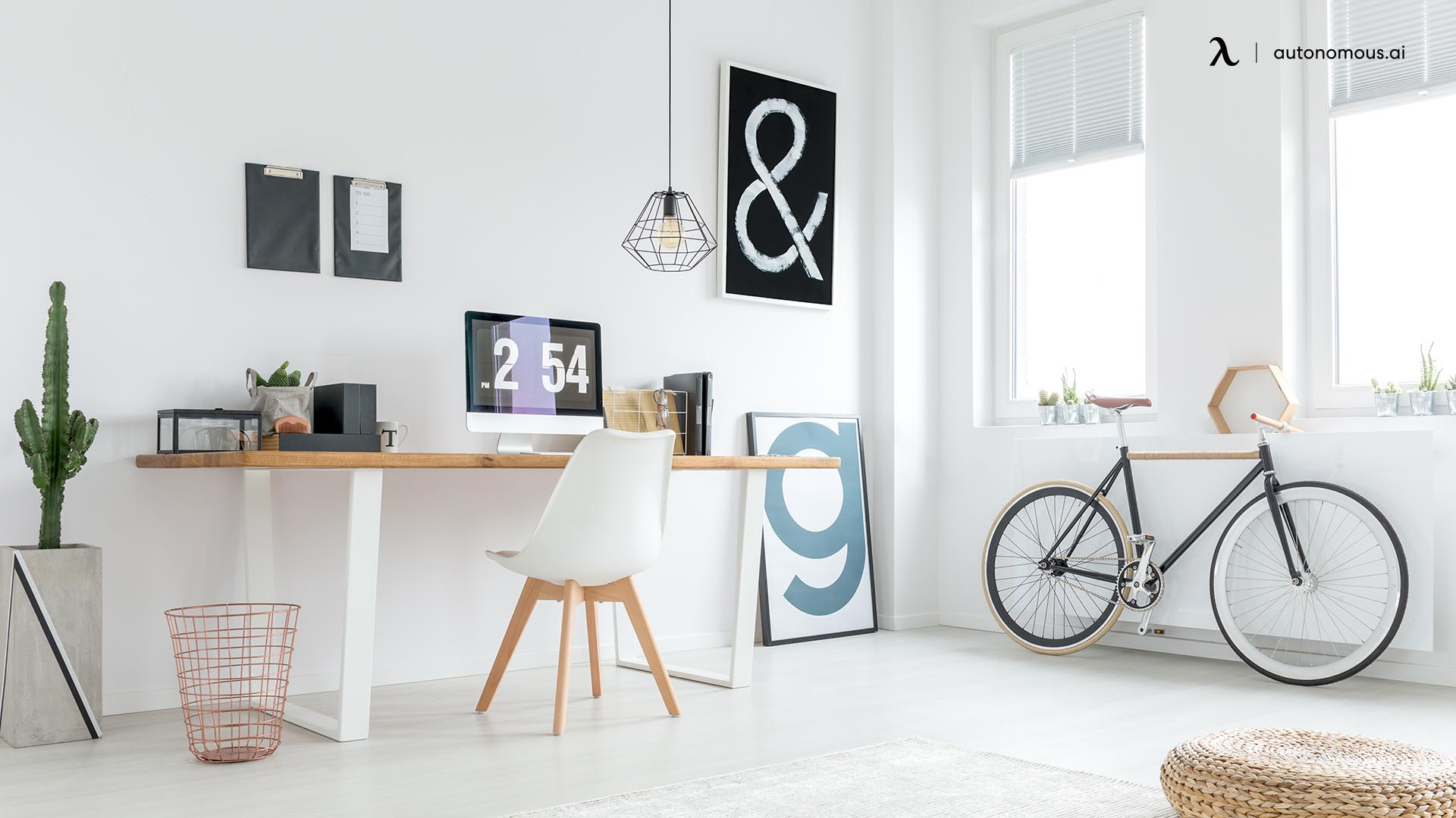 What Is a Minimalist Home Office?