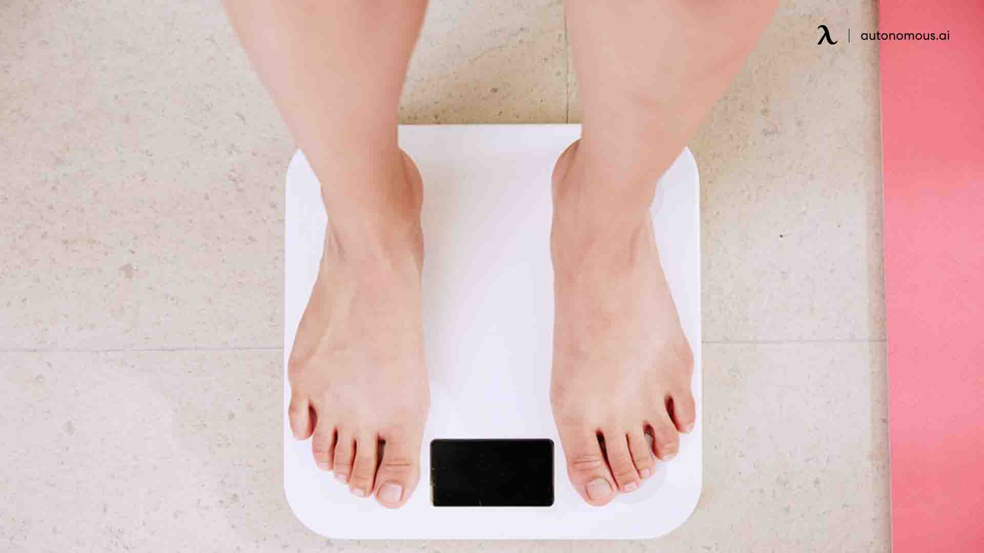 Lower risk of weight problems