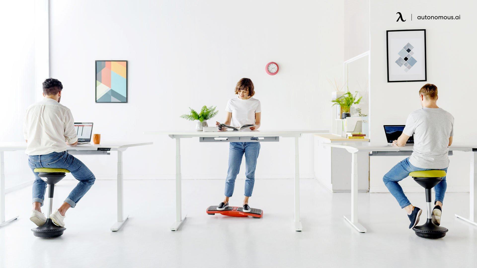adopt active sitting