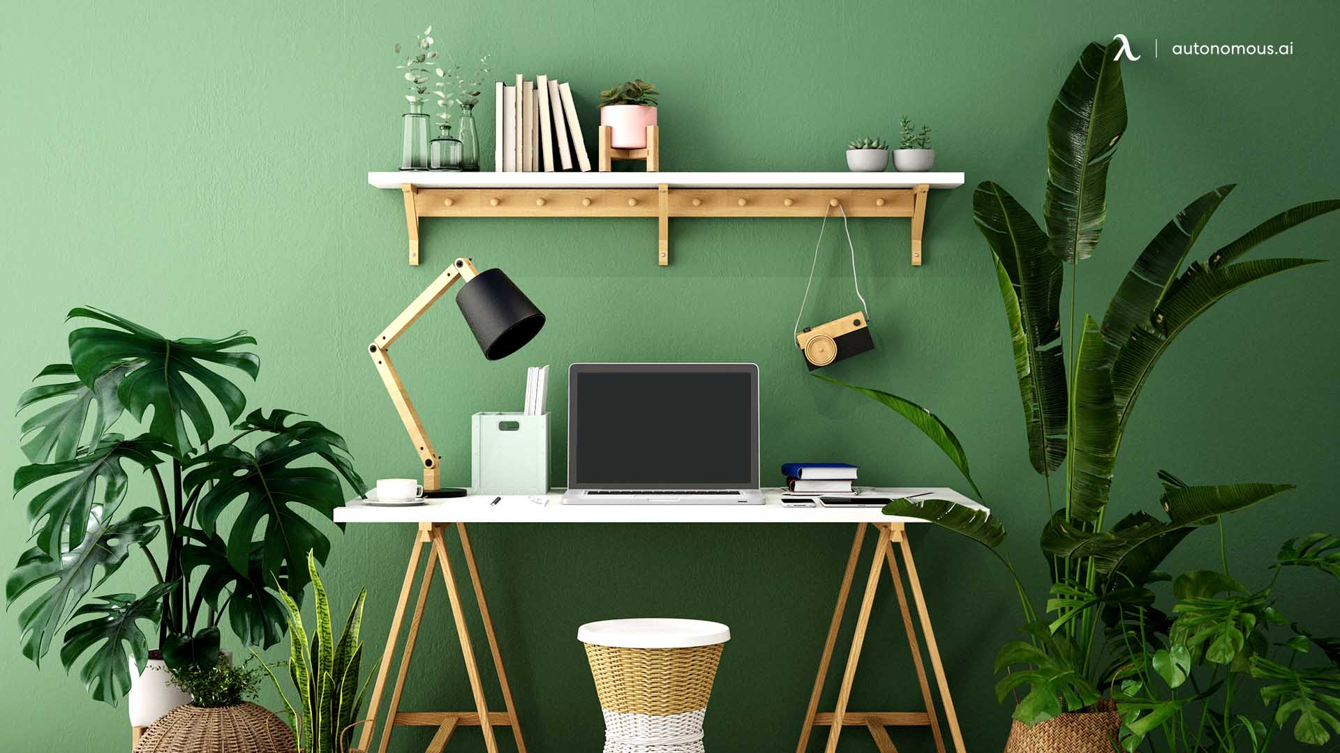 make your workspace green