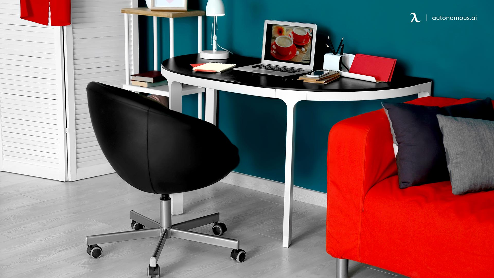 Winged backrest low sitting chair