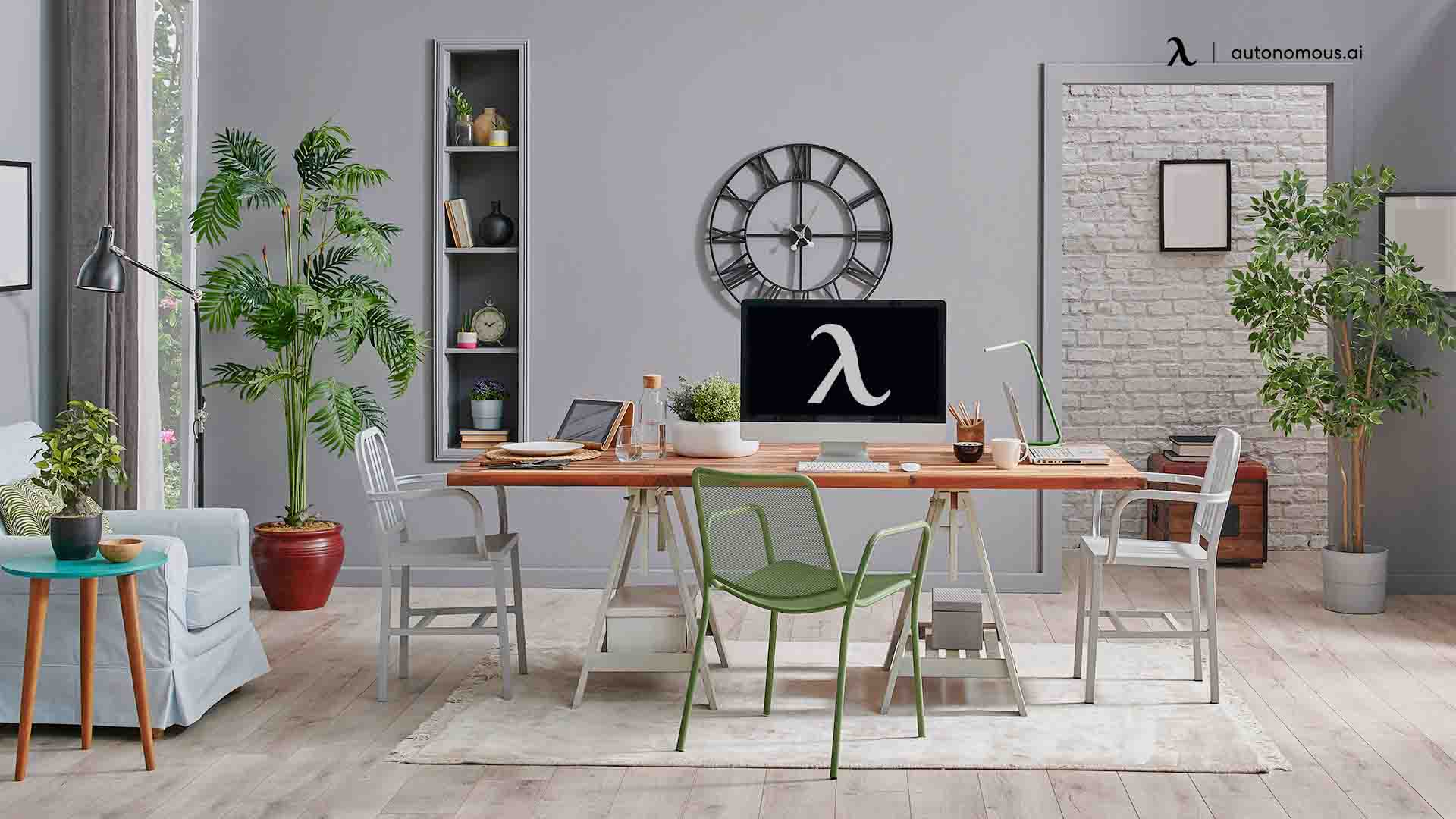 What is modern office furniture?
