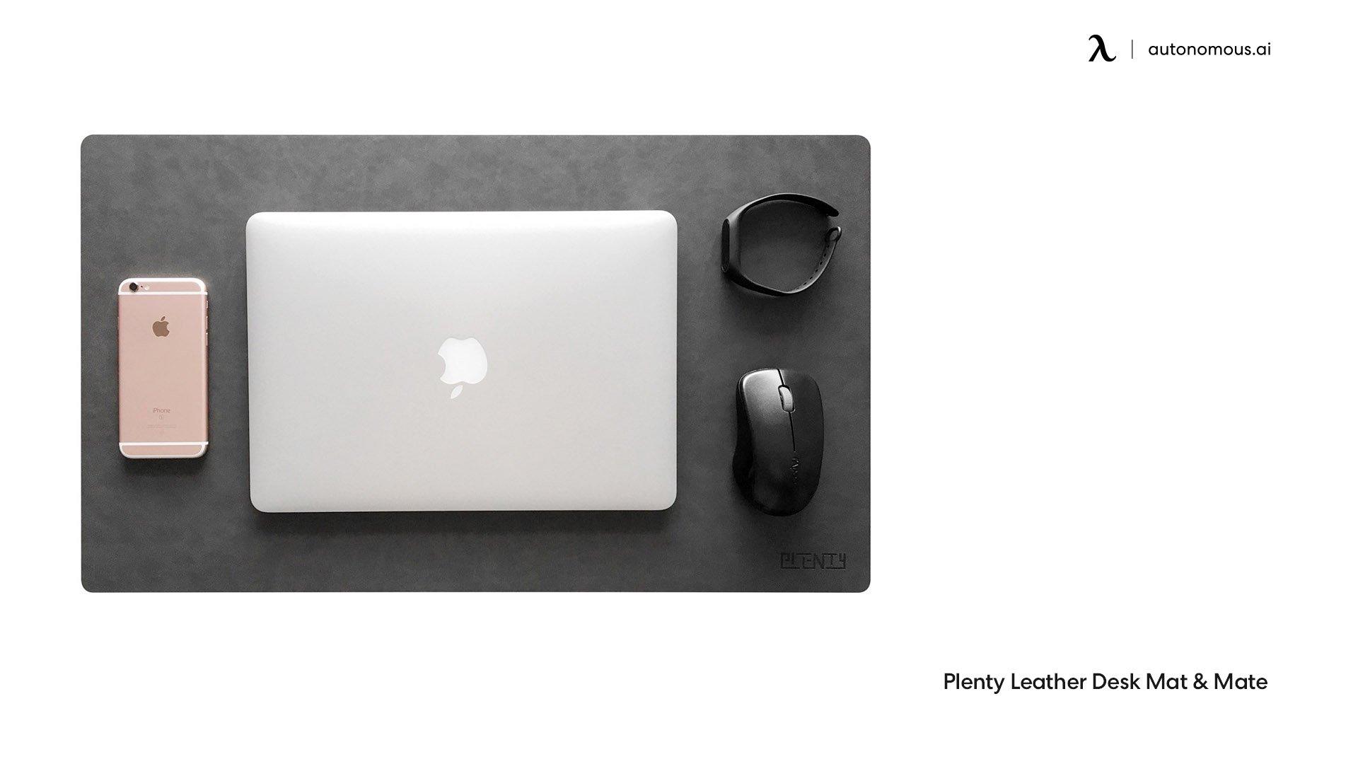 Plenty Leather Desk Mat & Mate