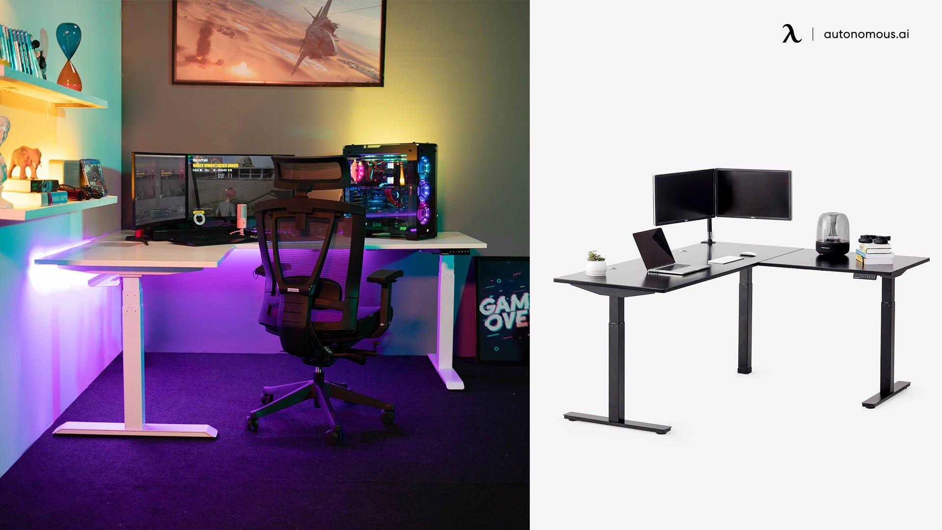 Autonomous SmartDesk – A Great Alternative to Common RGB Gaming Desks