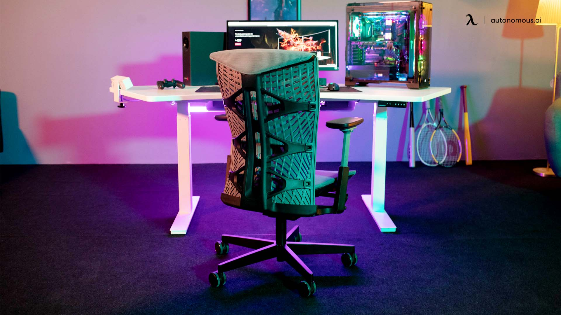Get a nice gaming or ergonomic chair