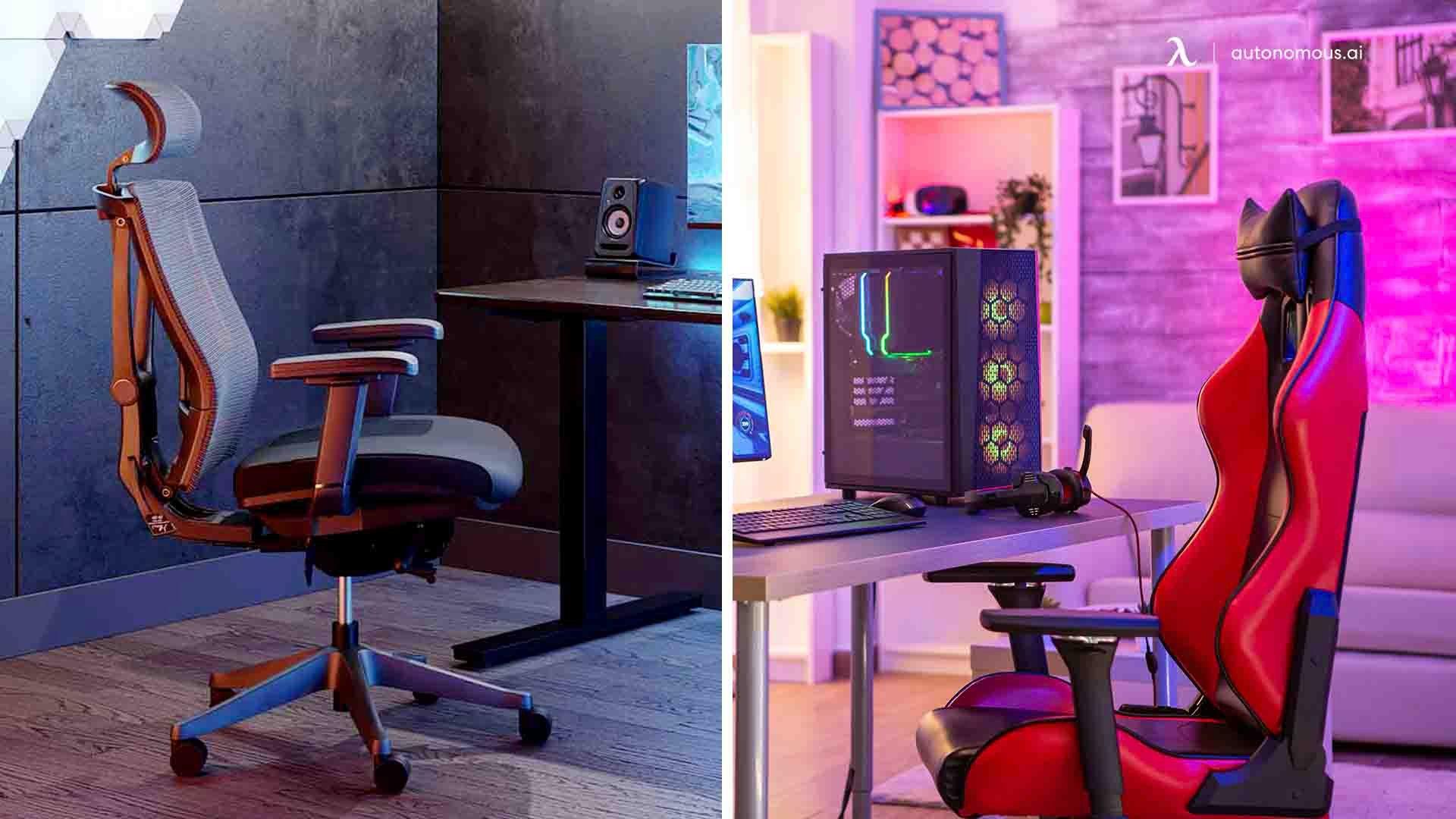 Ergonomic Chair Vs. Normal Gaming Chair