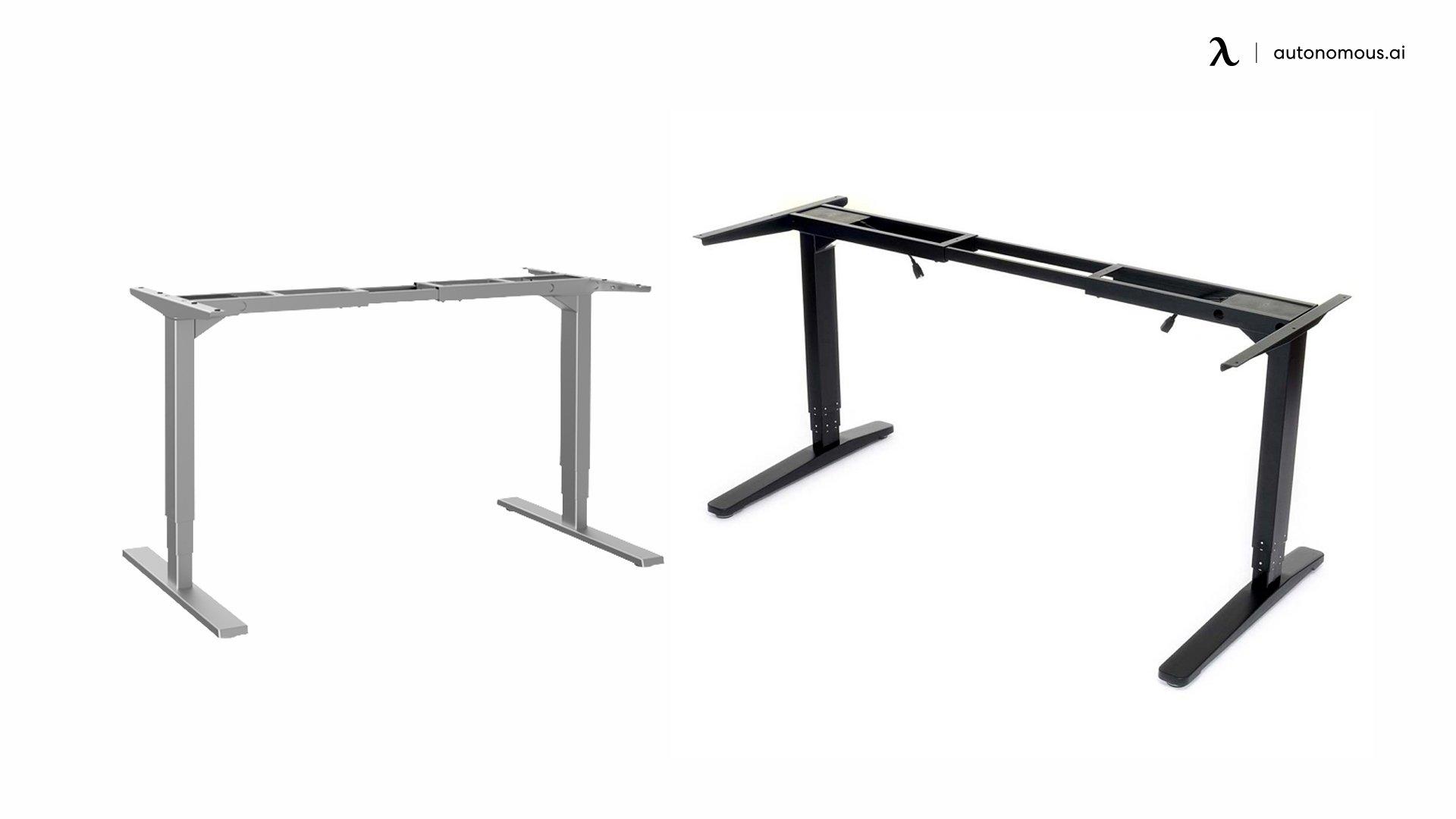 Jiecang Electric Adjustable Standing Desk Frame Structure