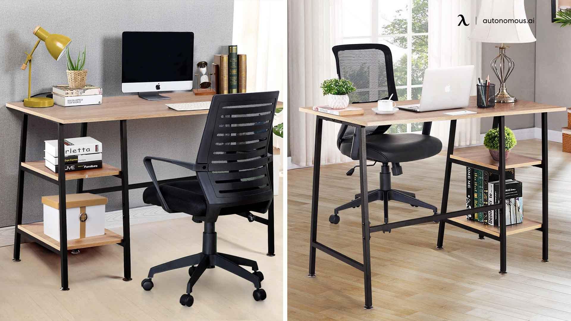 Latitude Run's Reversible Chair and Desk Set