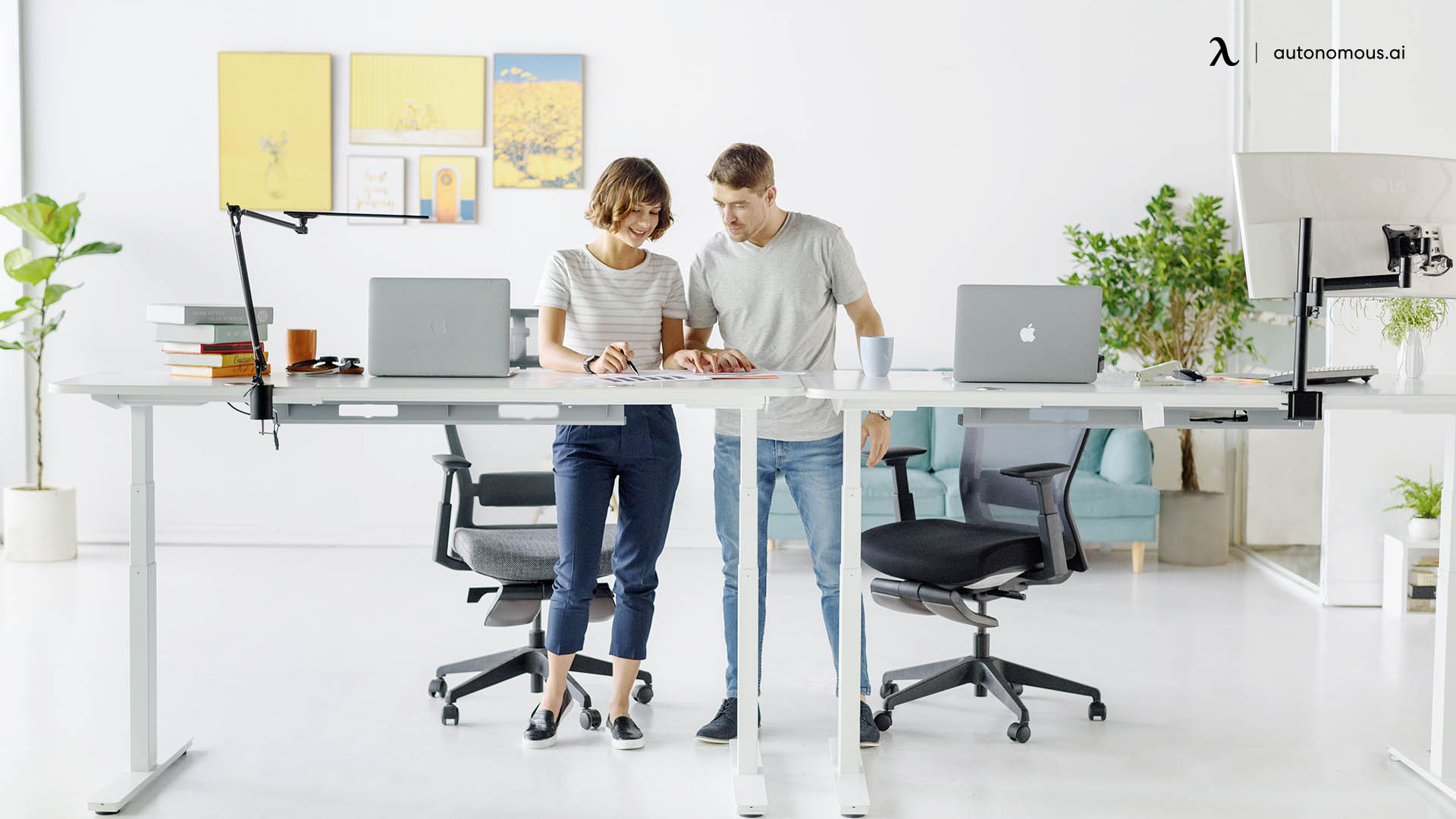 What are standing desks?