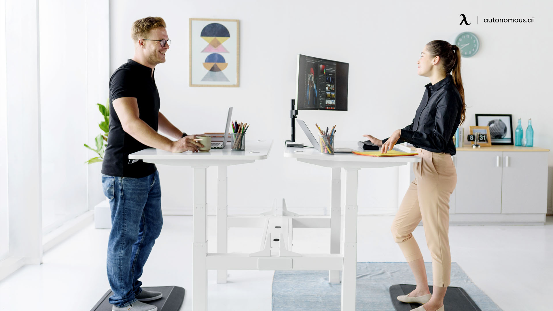 Best Postures for a Standing Desk
