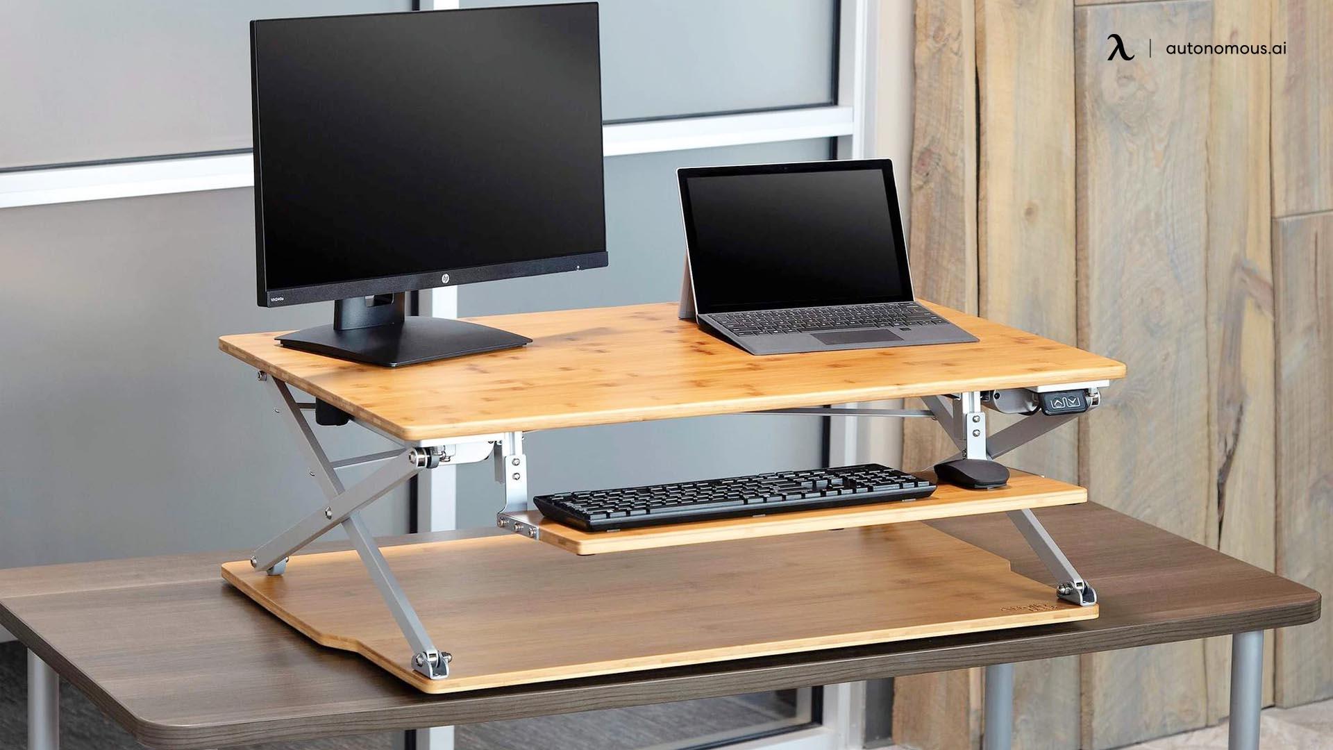 Attollo Desk - Height Adjustable Desk by Office Kick Inc