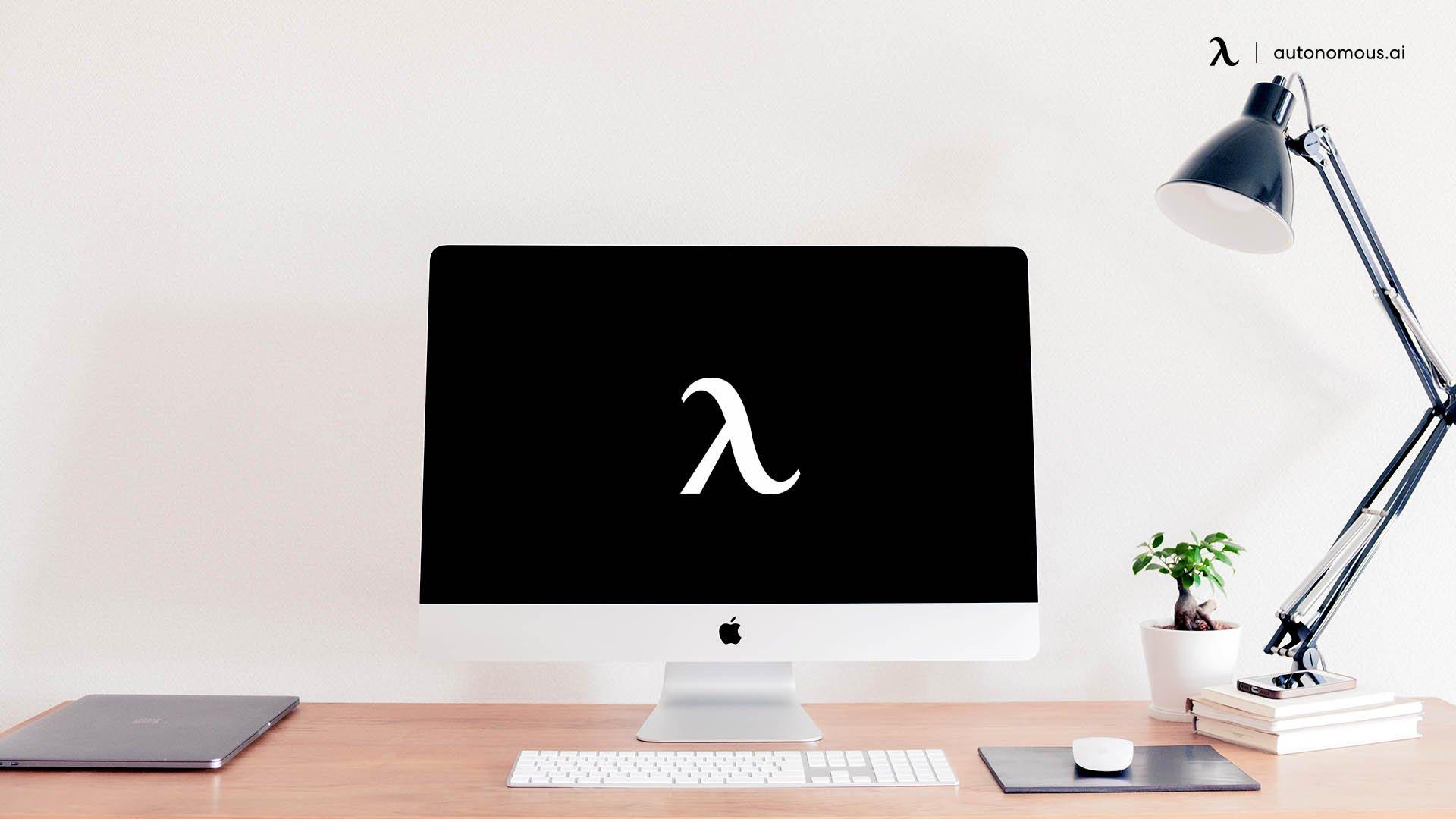 The Minimalist Desktop Set-up