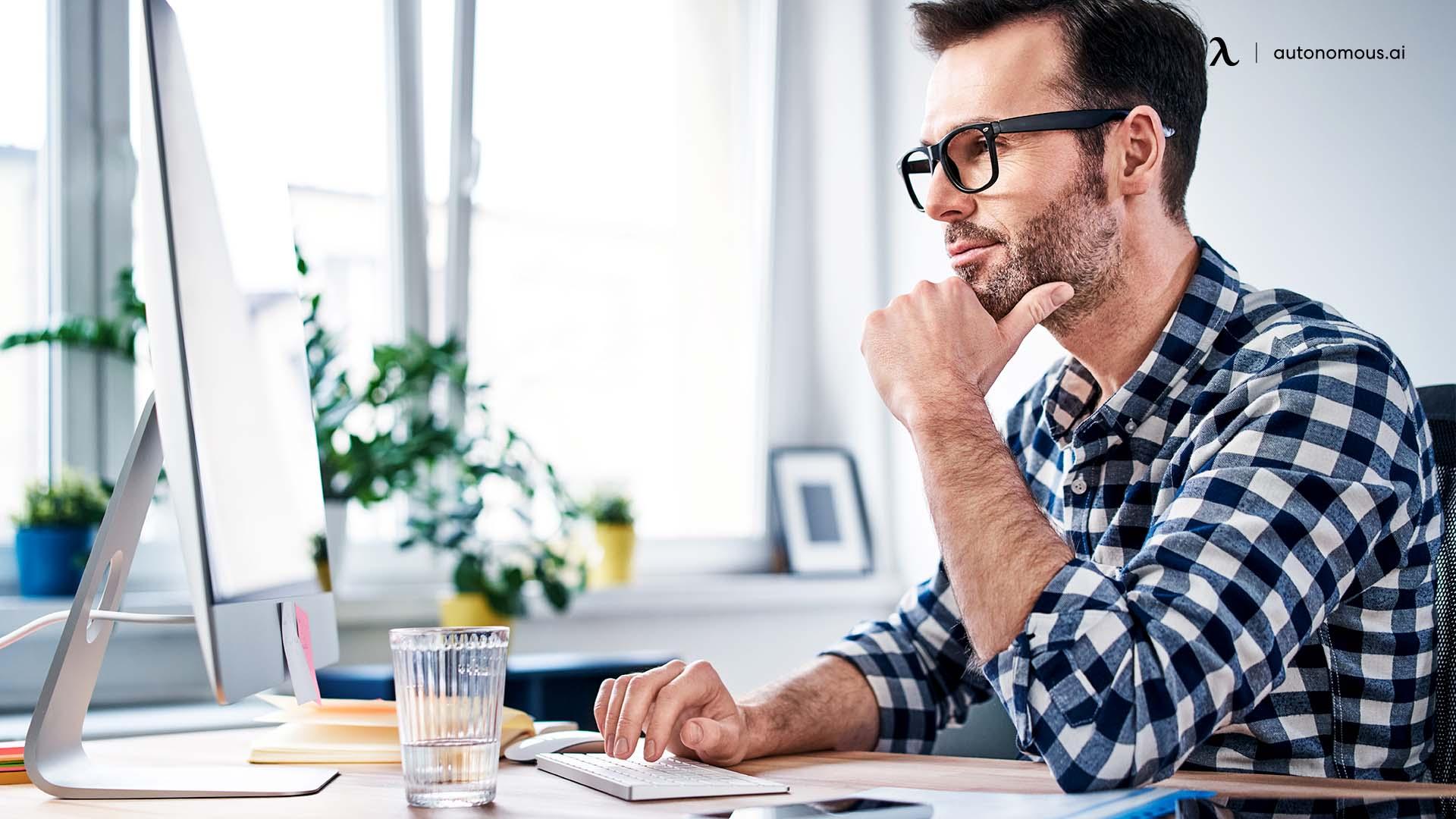 Maintain focus at work