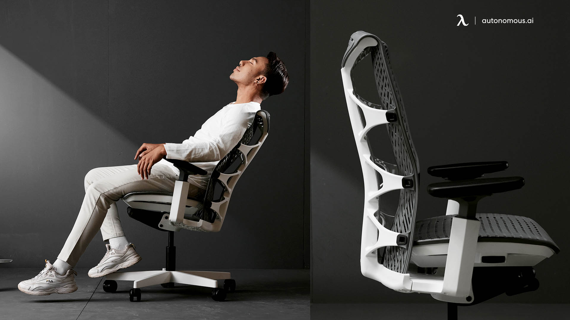 Why a black and white chair only?