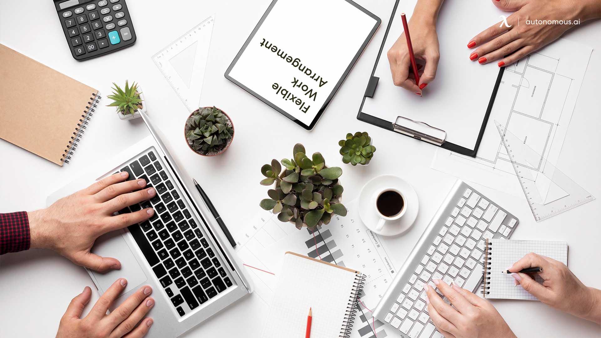 Benefits Of Hybrid Work Arrangement