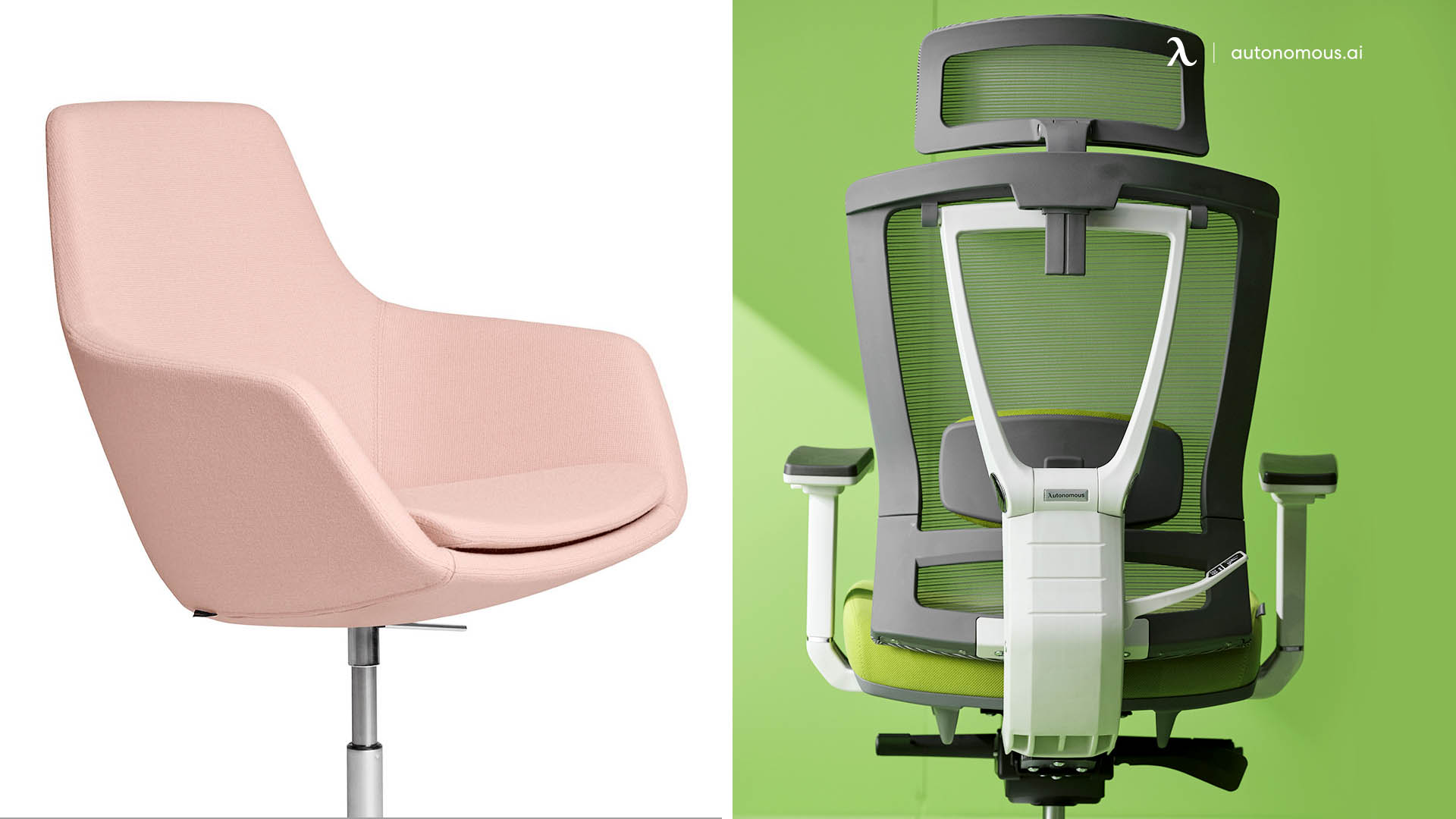 A Common Work Chair Vs. a Secretarial Chair with Back Support