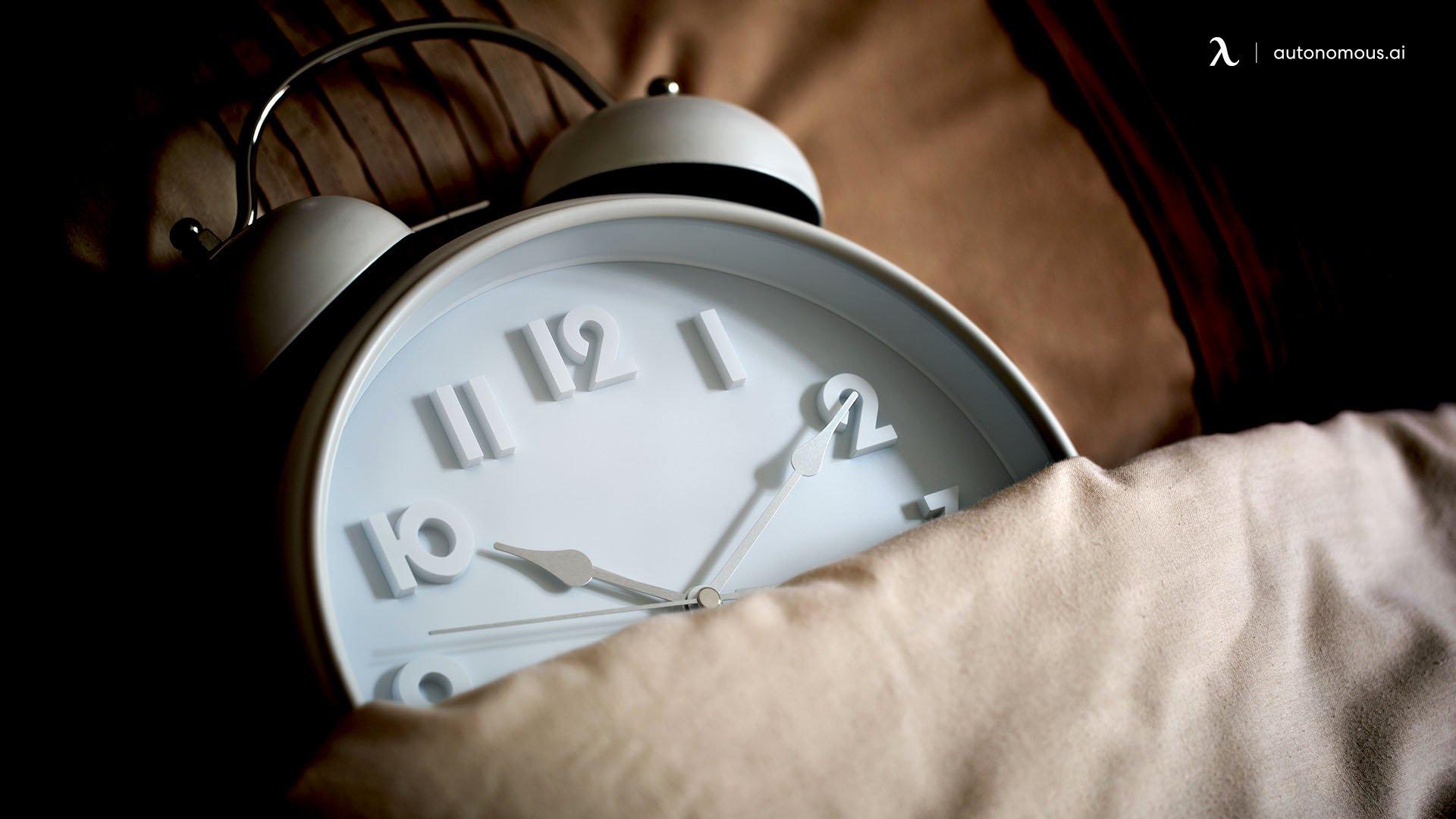 Decent rest each night