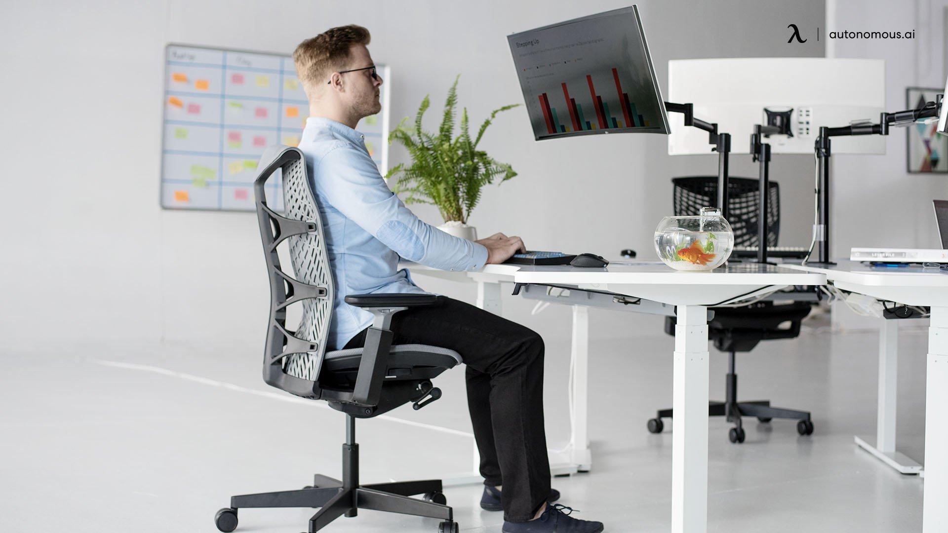 Work ergonomically