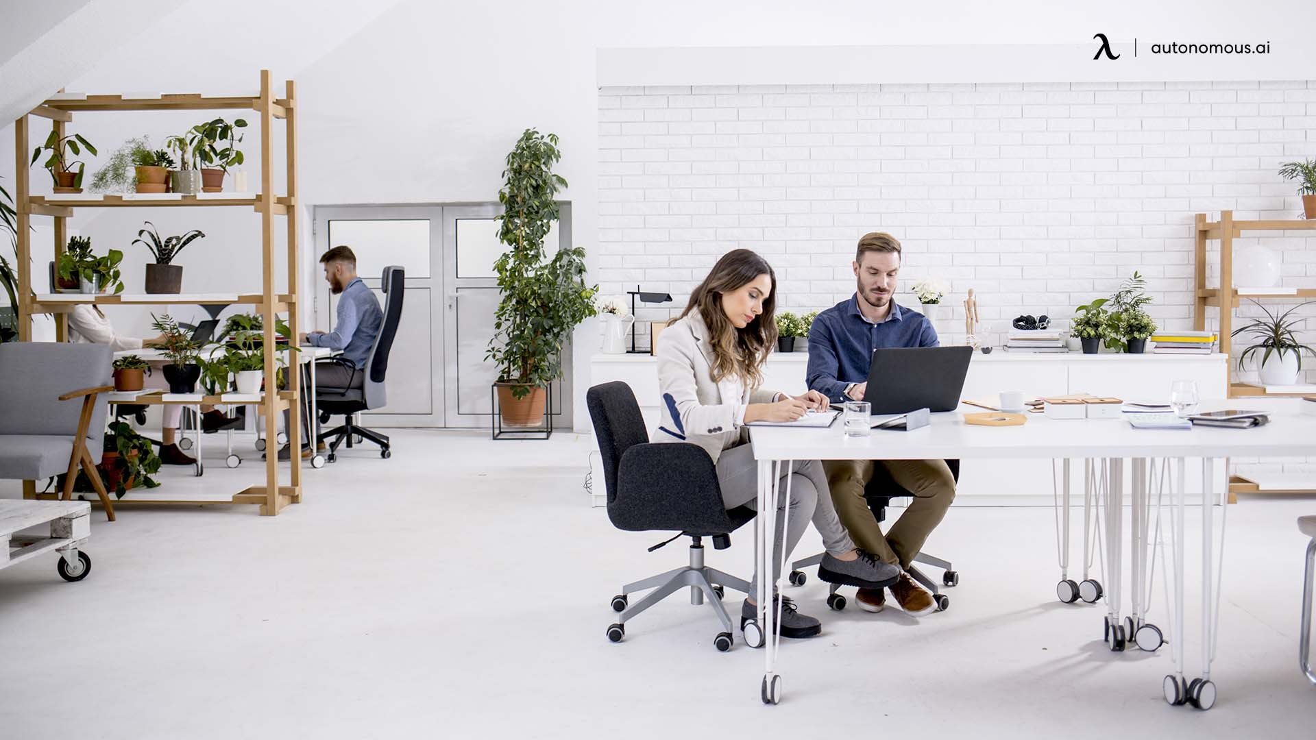 Changing office designs