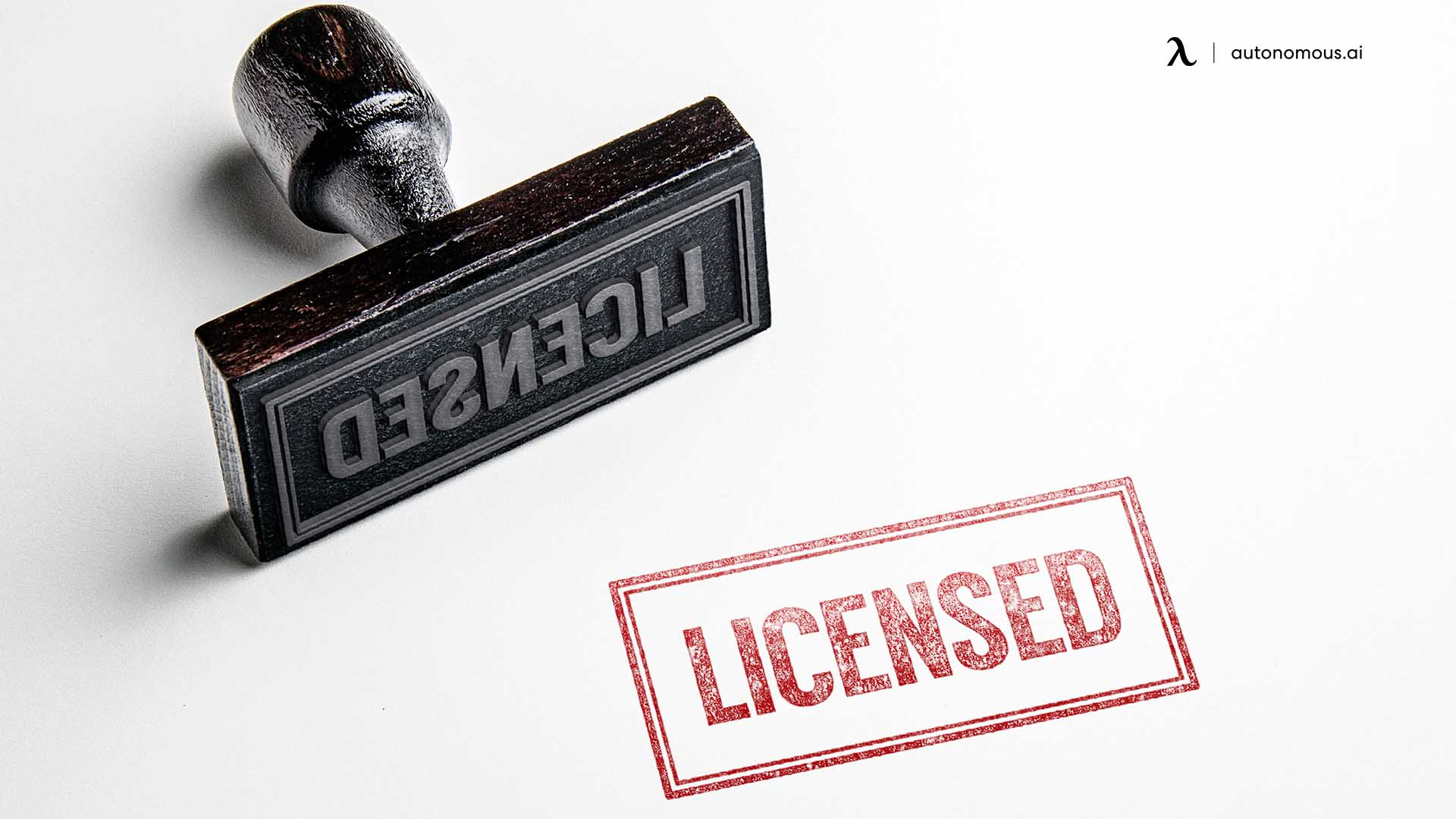 Tax registration and licenses