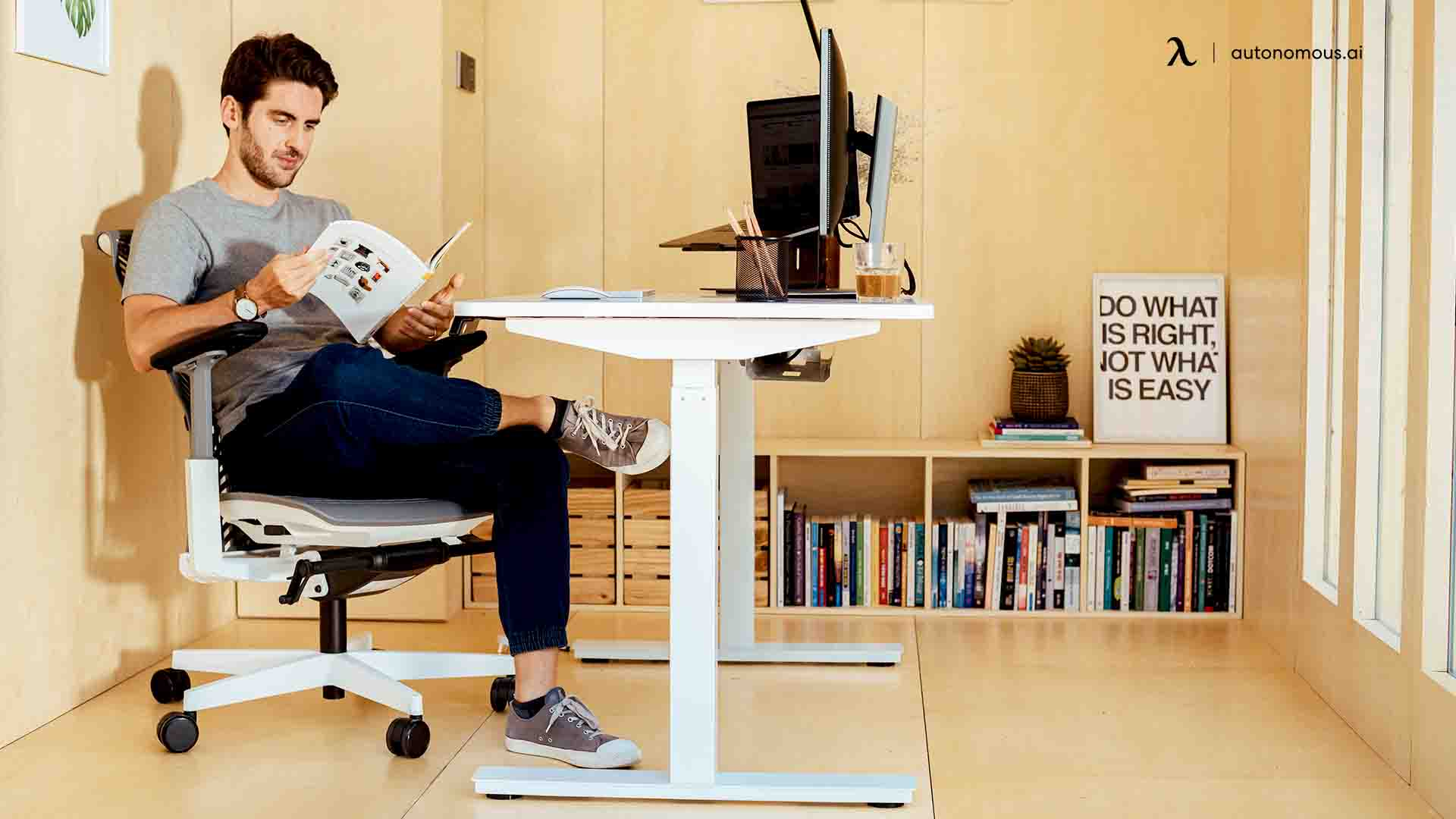 What About Ergonomics in Your Work Pod?