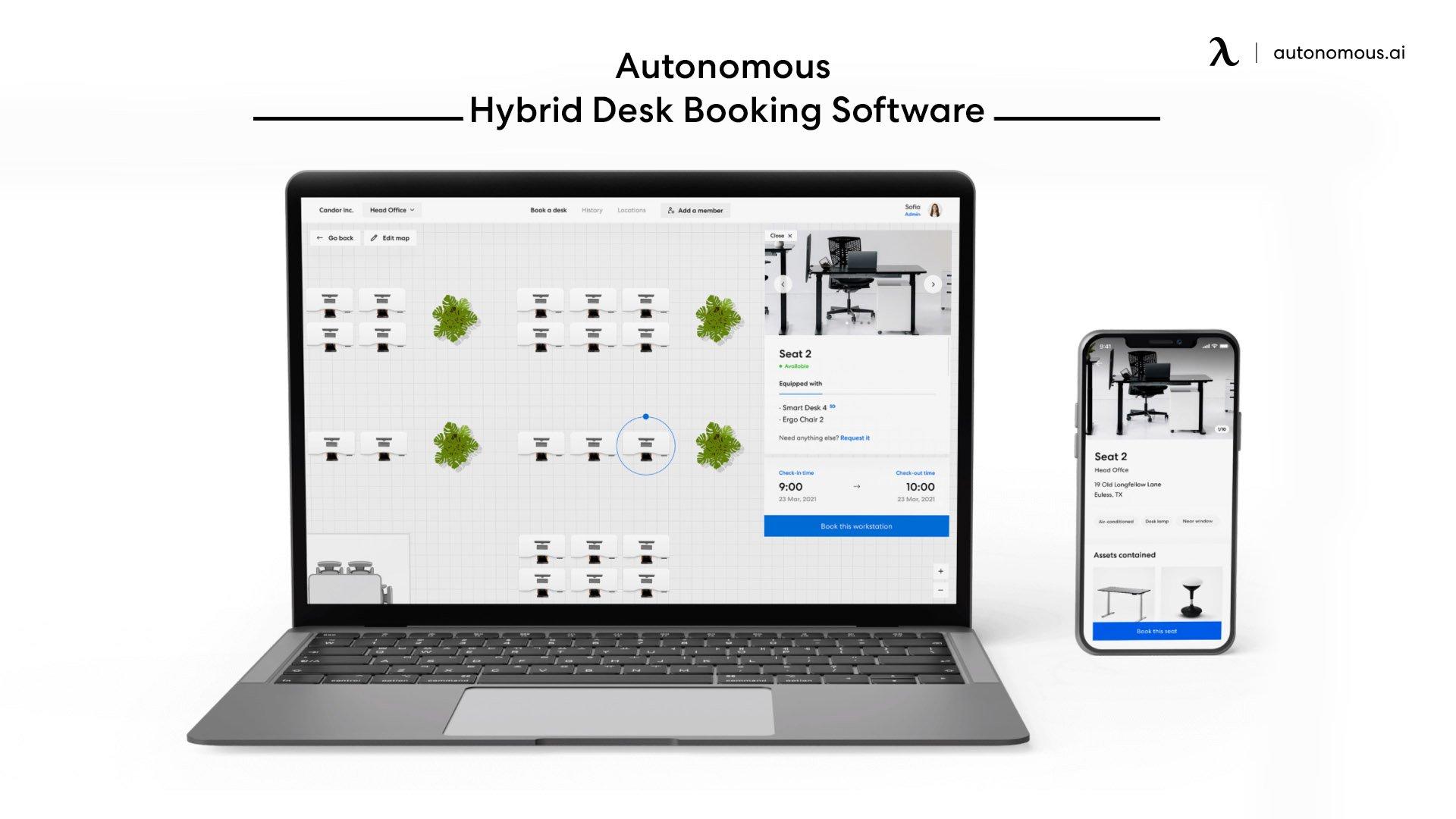 Autonomous Hybrid as a digital solution for Hybrid work model