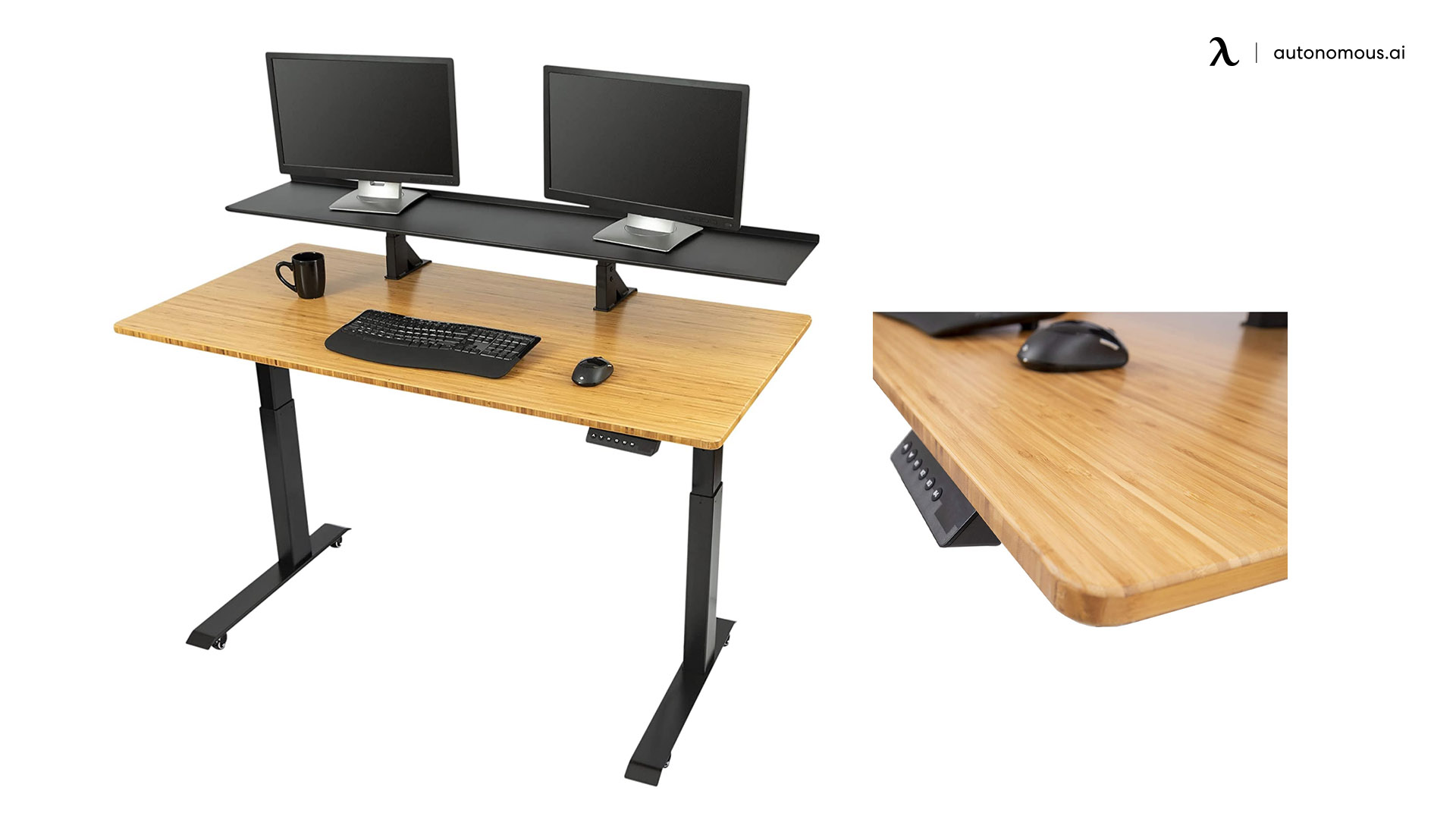 Stand Up Desk Store's Split Top Electric Stand Up Desk