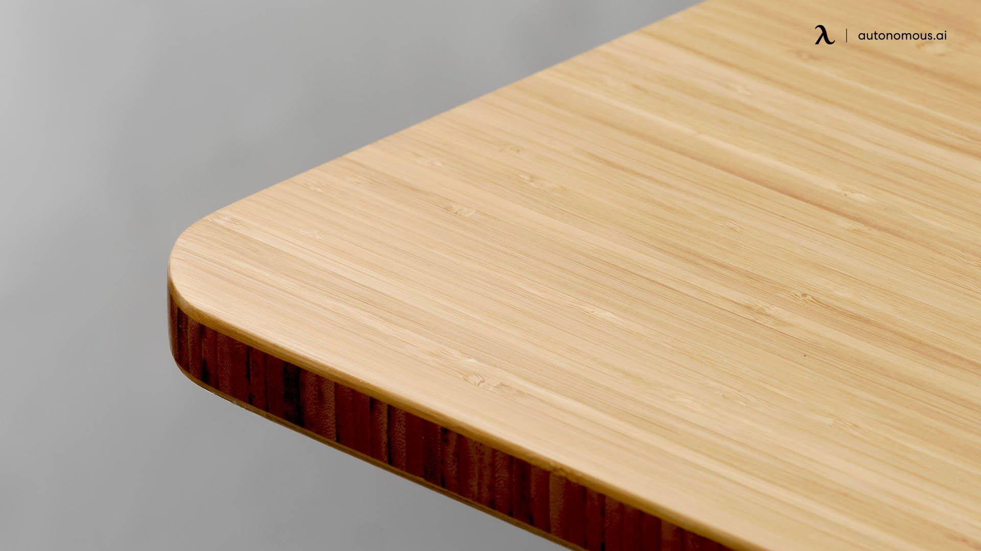 Bamboo Top Standing Desk by Autonomous
