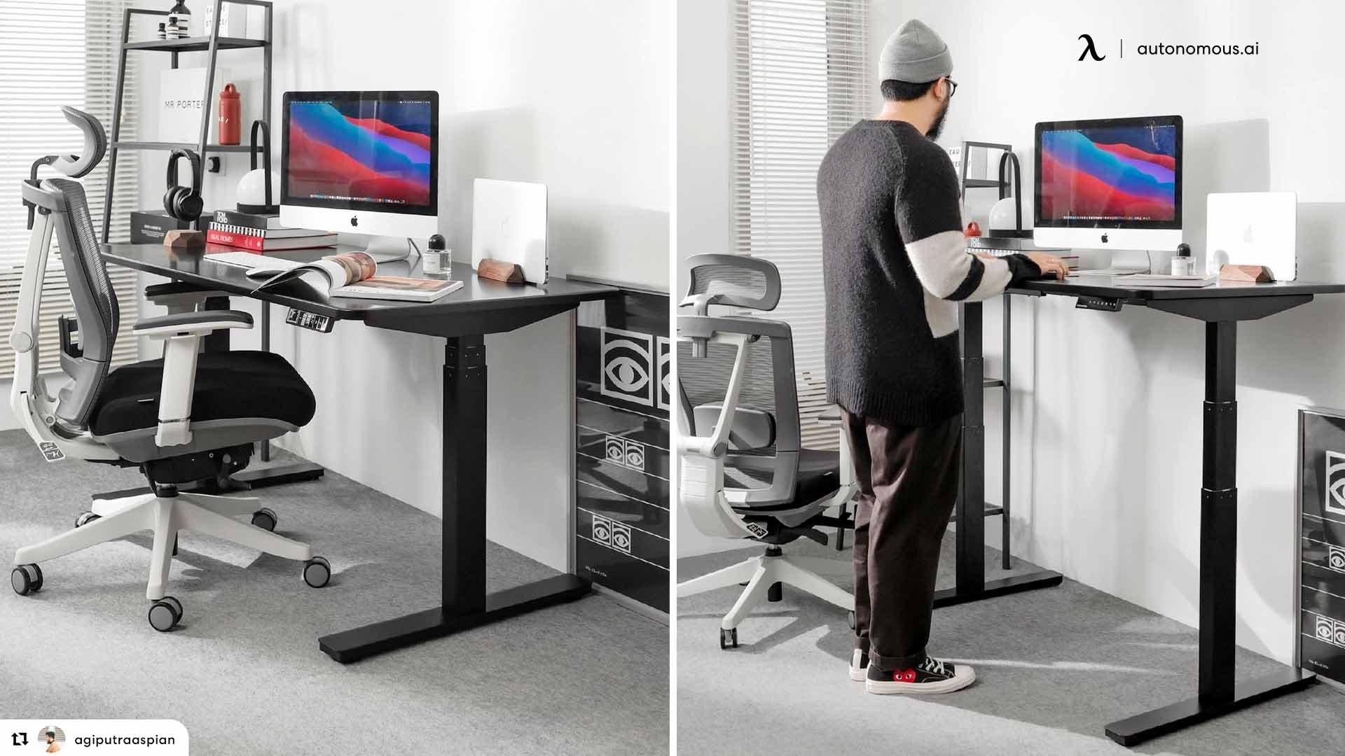 Aesthetic desk setup ideas