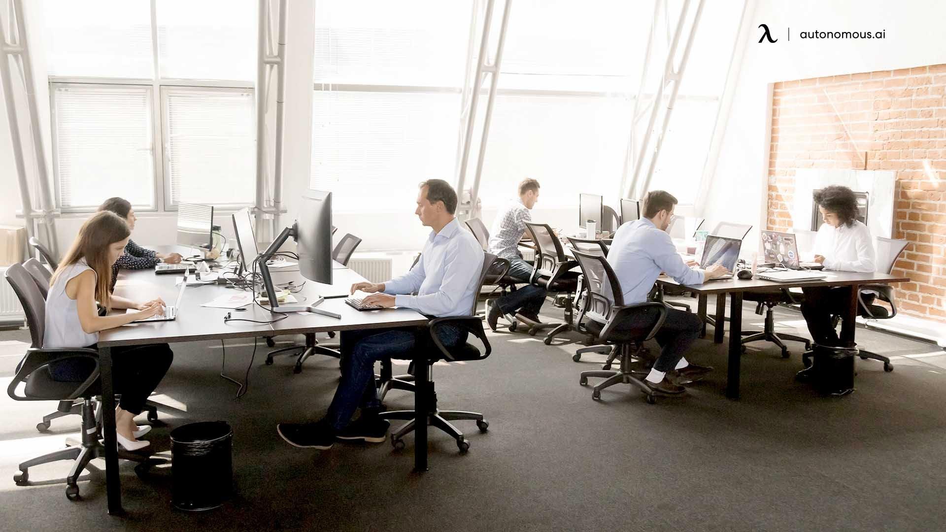 Hybrid Workplaces