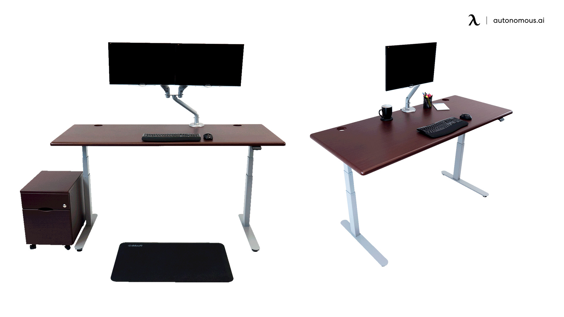 iMovR Cascade Corner Standing Desk