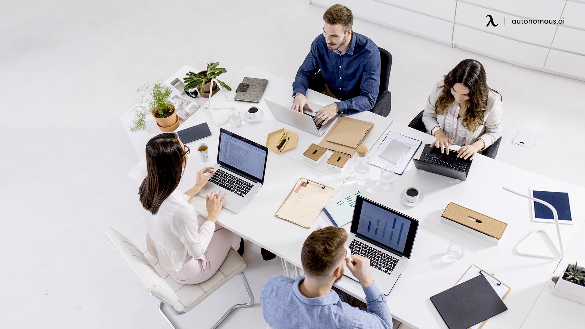 Flexible workspaces provide companies and employees with new ways of working.