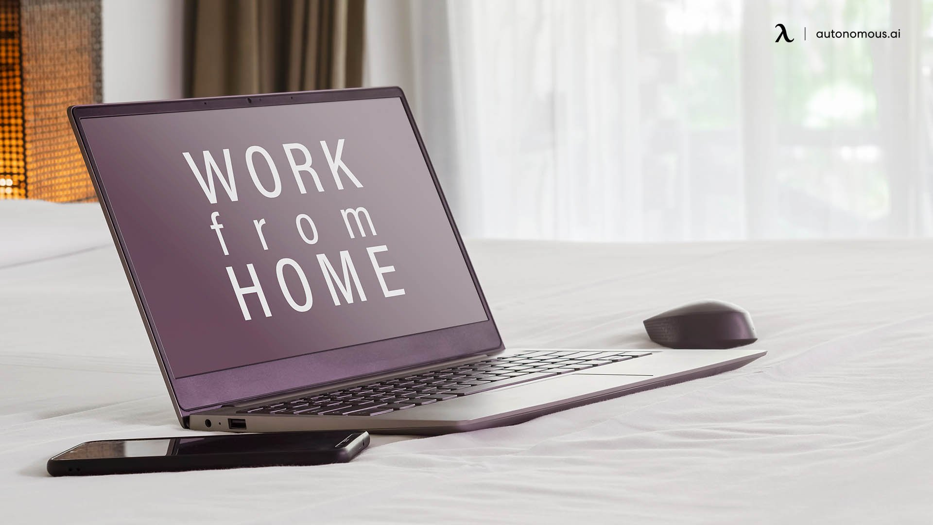 Is Working from Bed a Good Idea?