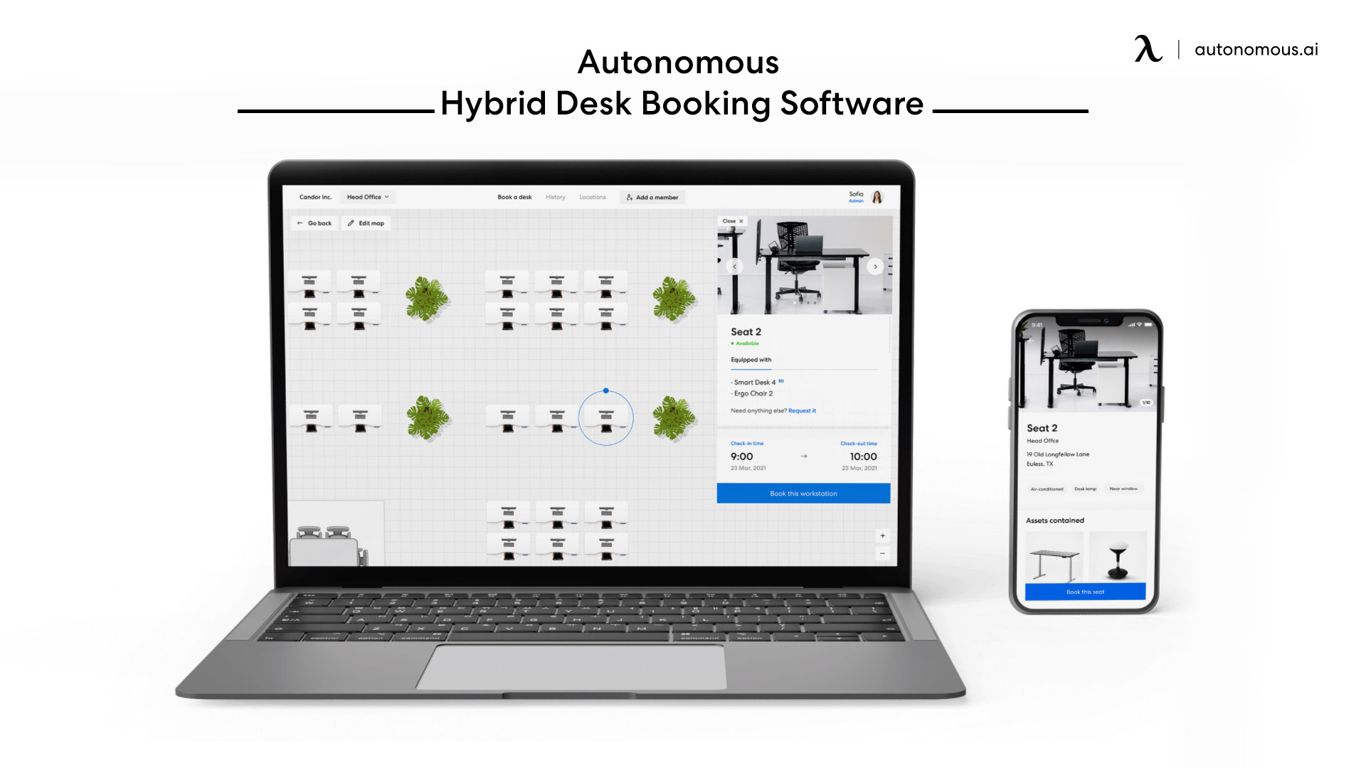 Centralize booking and management.