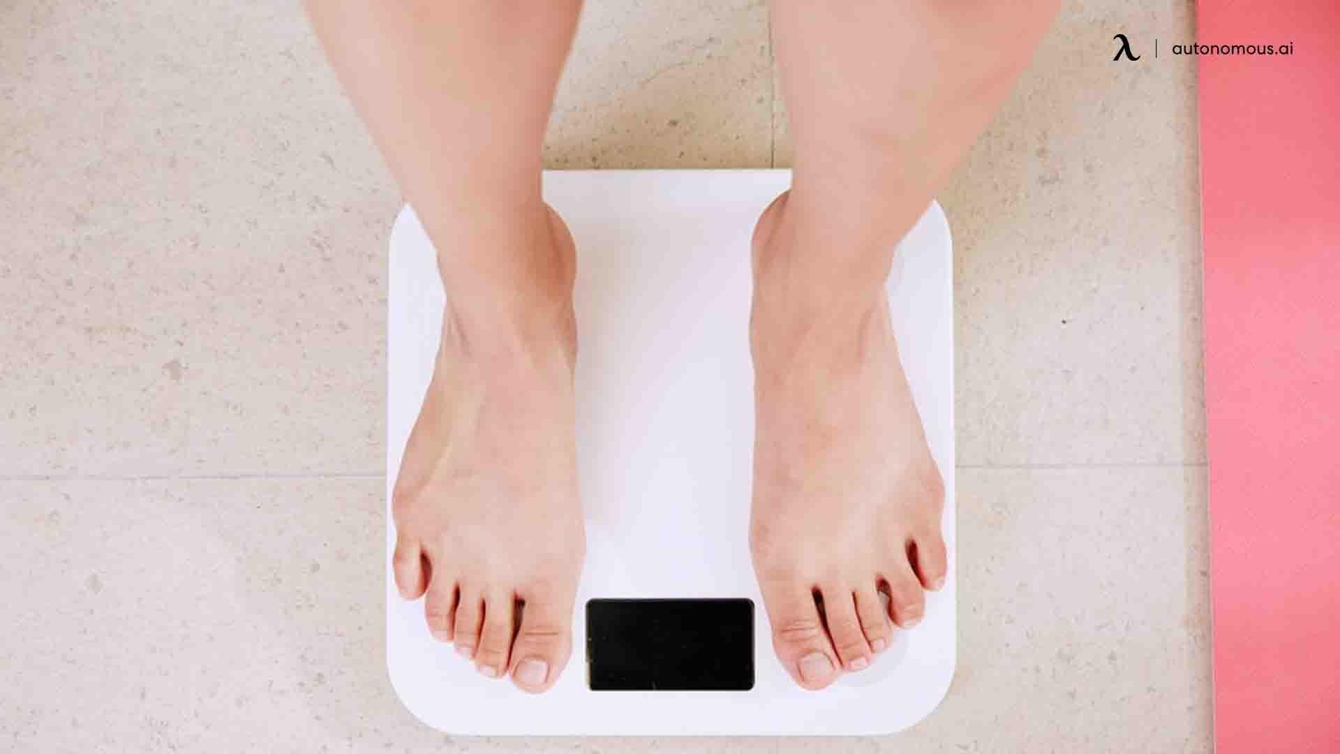 Lower weight gain