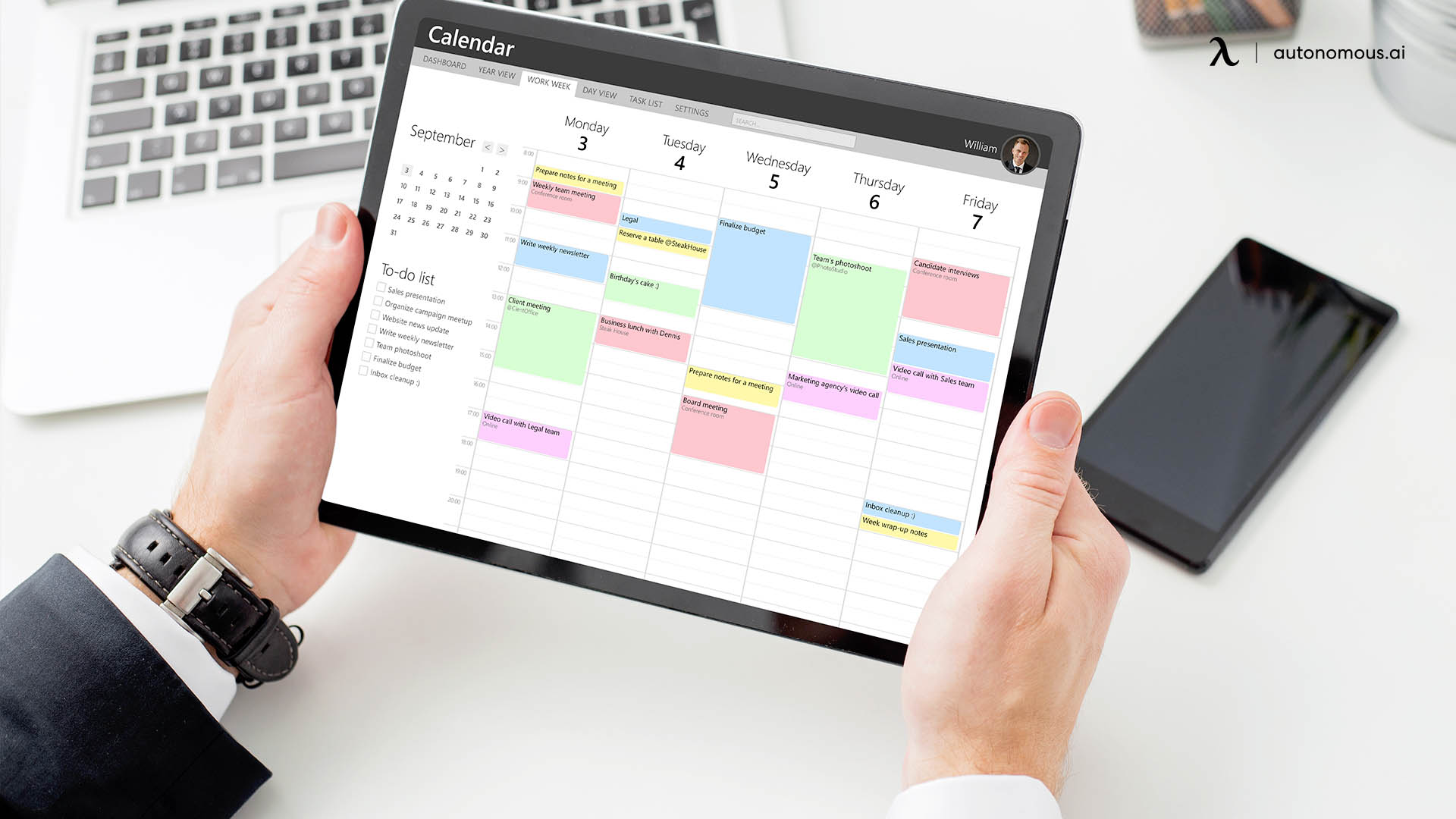 Setting up The Flexible Work Plans