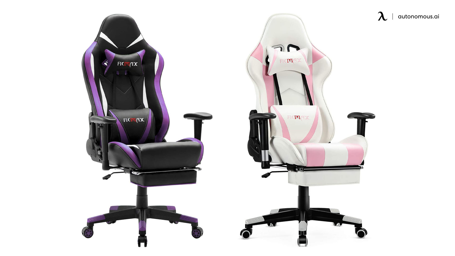 Ficmax's Gaming chair with Massage and footrest