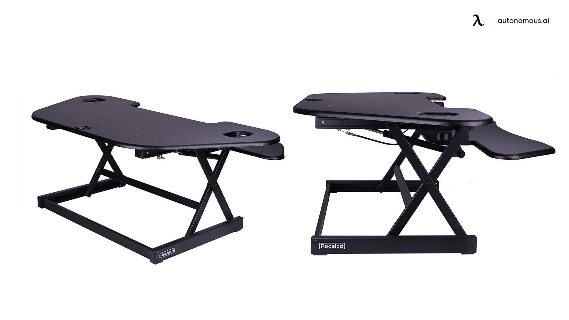"Rocelco 46"" Height Desk Converter"