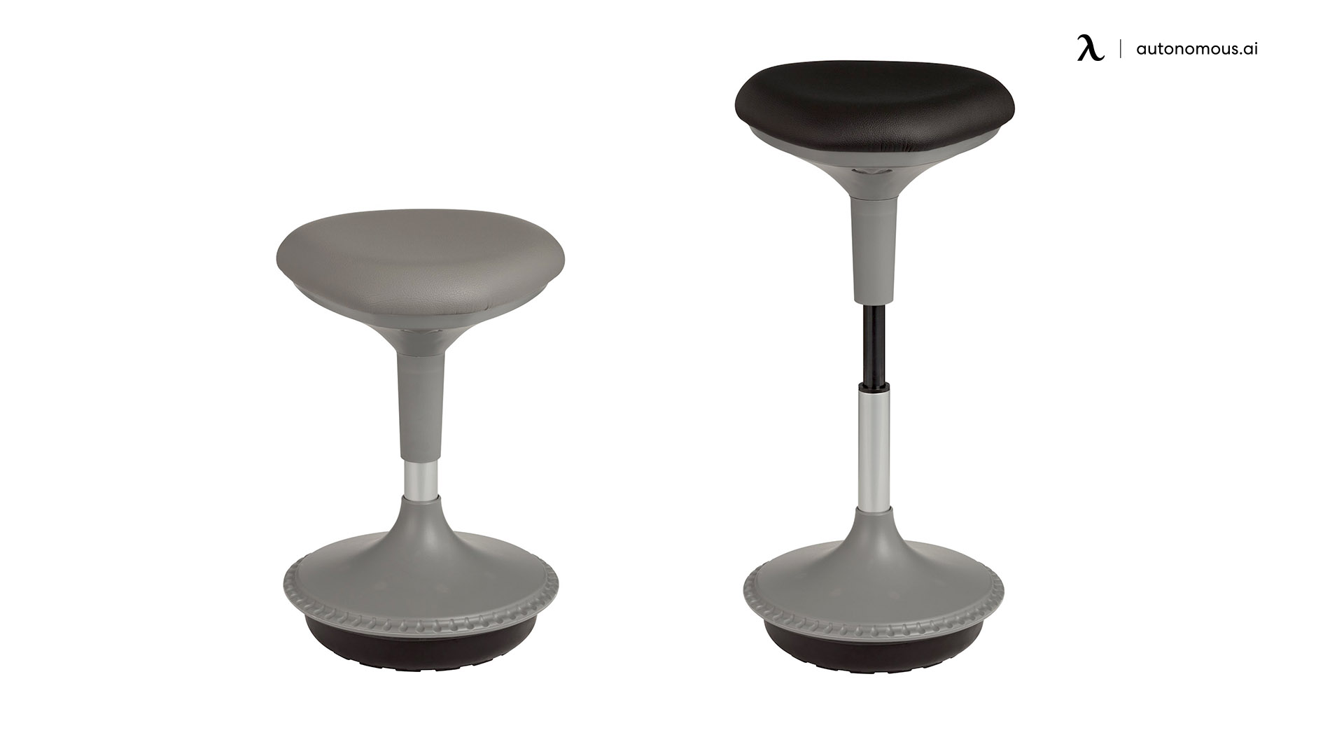 Adjustable Height Office Stool from the Learniture Store