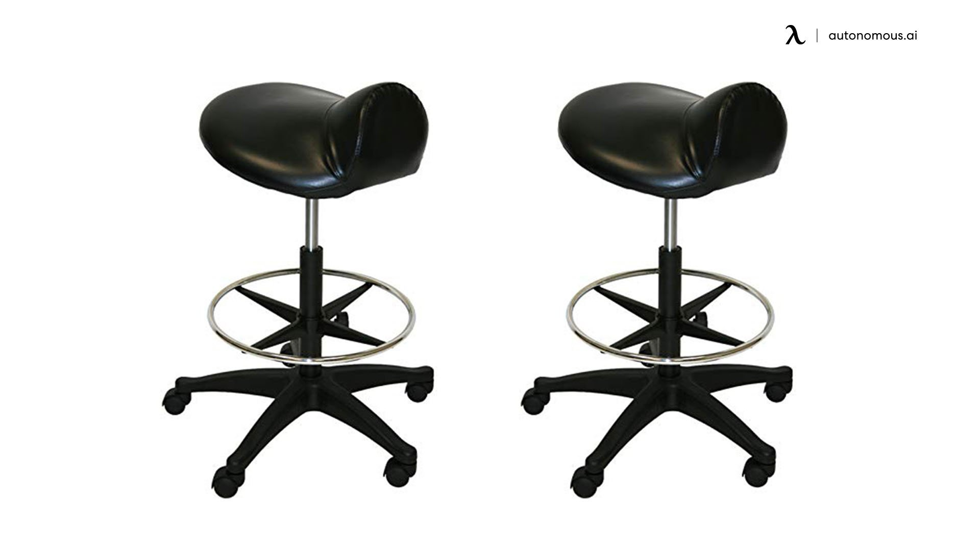 Extra Large Deluxe Saddle Stool by LCL Beauty