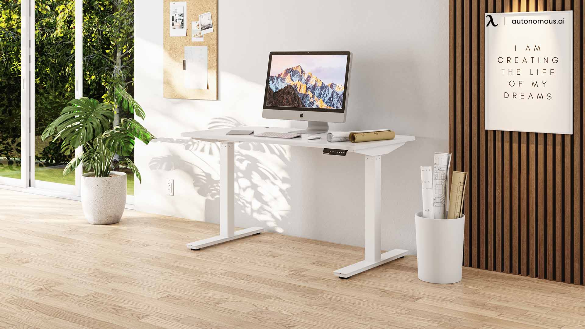Style Your Standing Desk