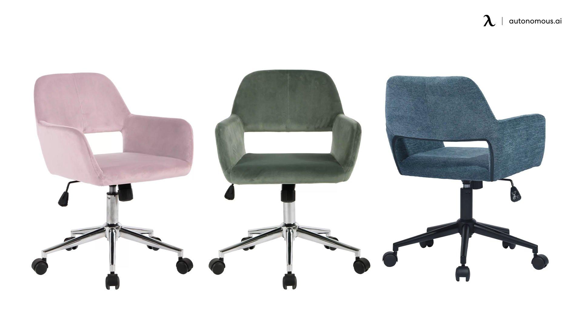 Elliana Velvet Task Chair
