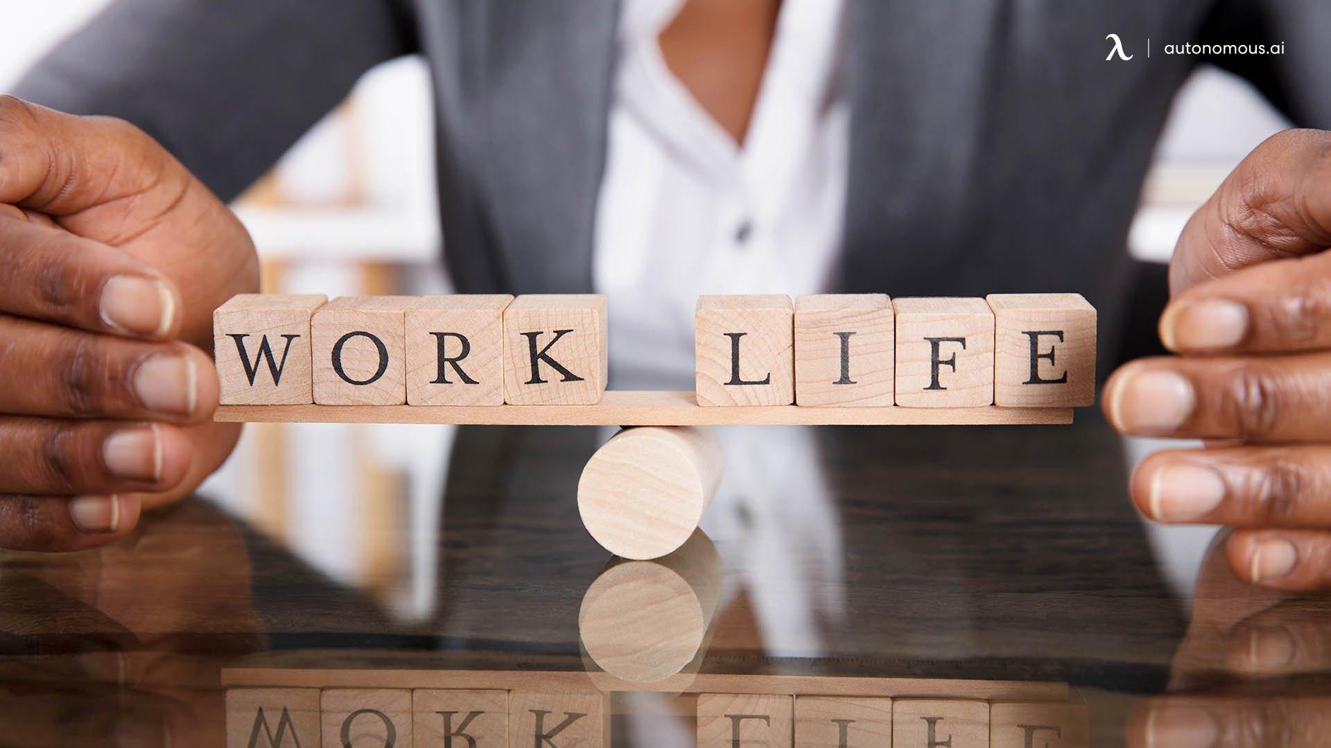 No work Life balance