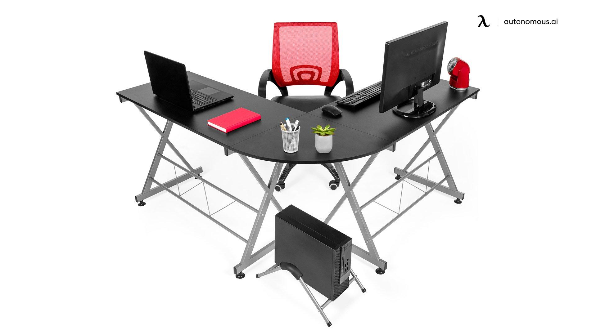Best Choice Product Modular L-Shape Desk
