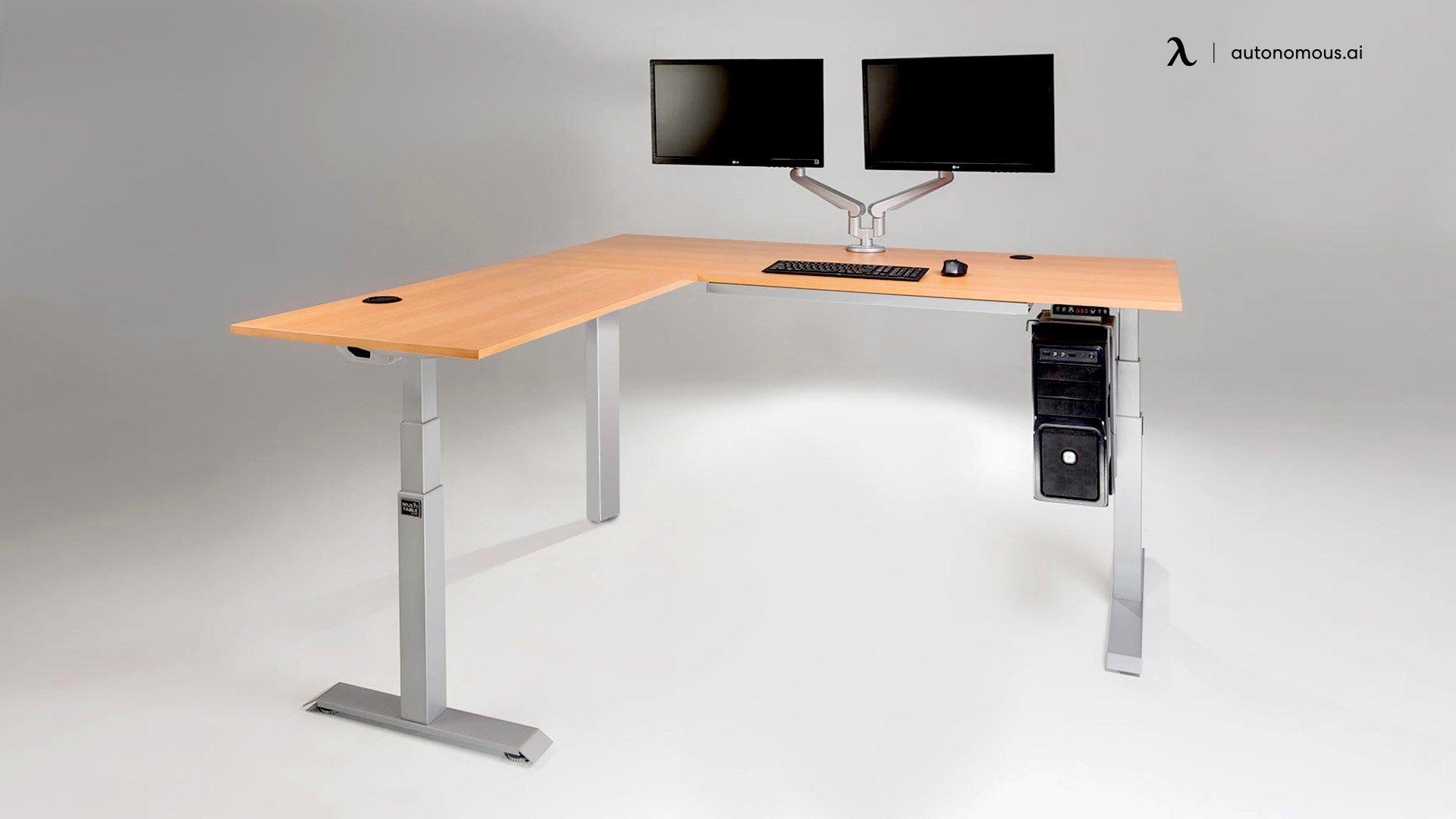 MultiTable L-Shaped Corner Desk