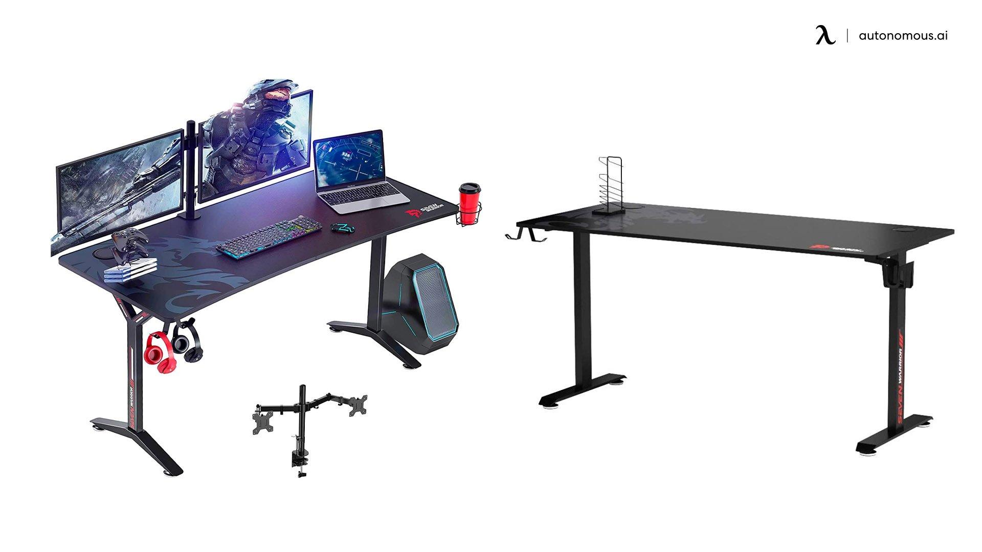 Seven Warrior Gaming desk