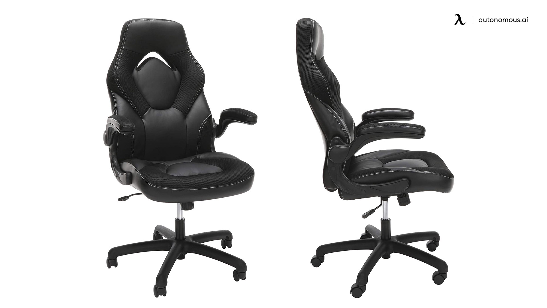 Racing Style Leather Chair for Gamers by OFM