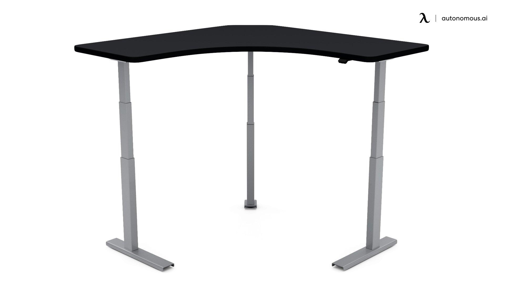 UpDesk Pro Squared Up Adjustable Corner Desk