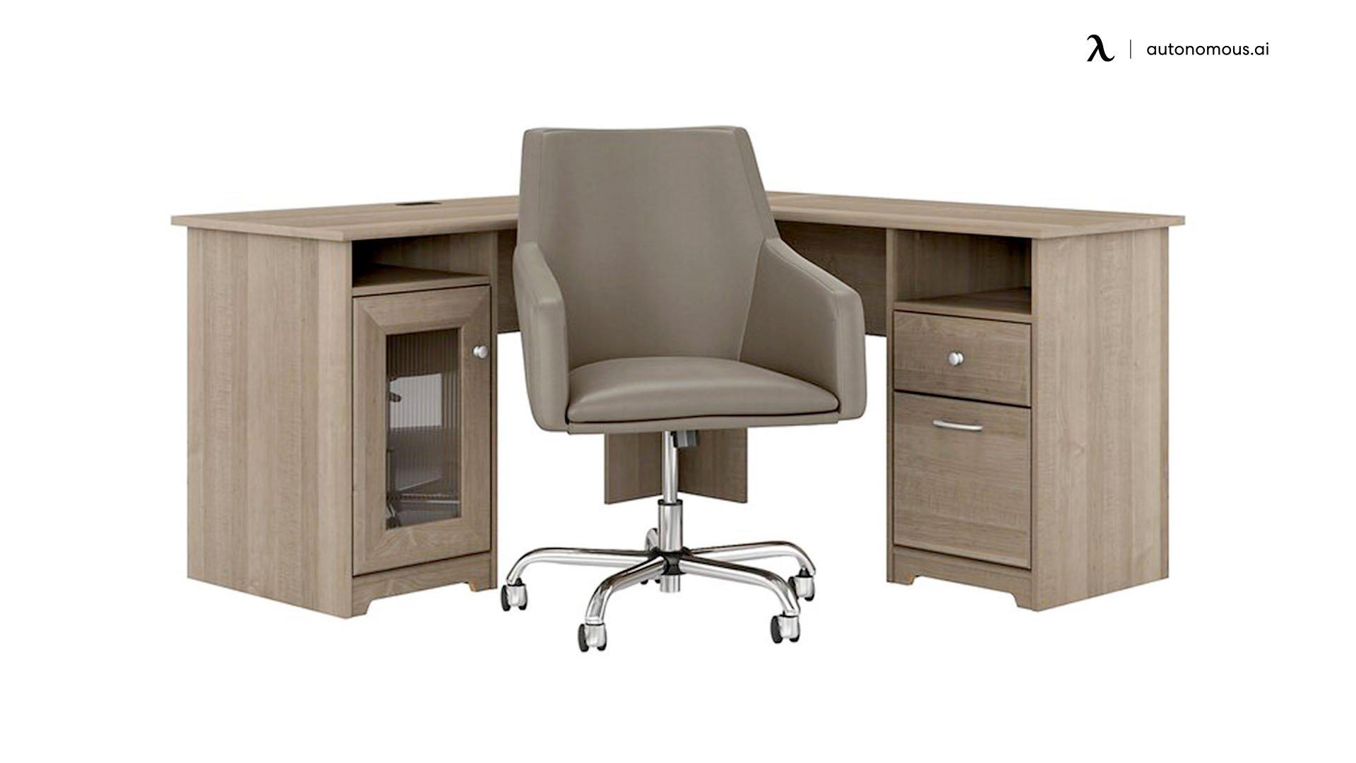 Hillsdale L-Shape Desk from Red Barrel Studio