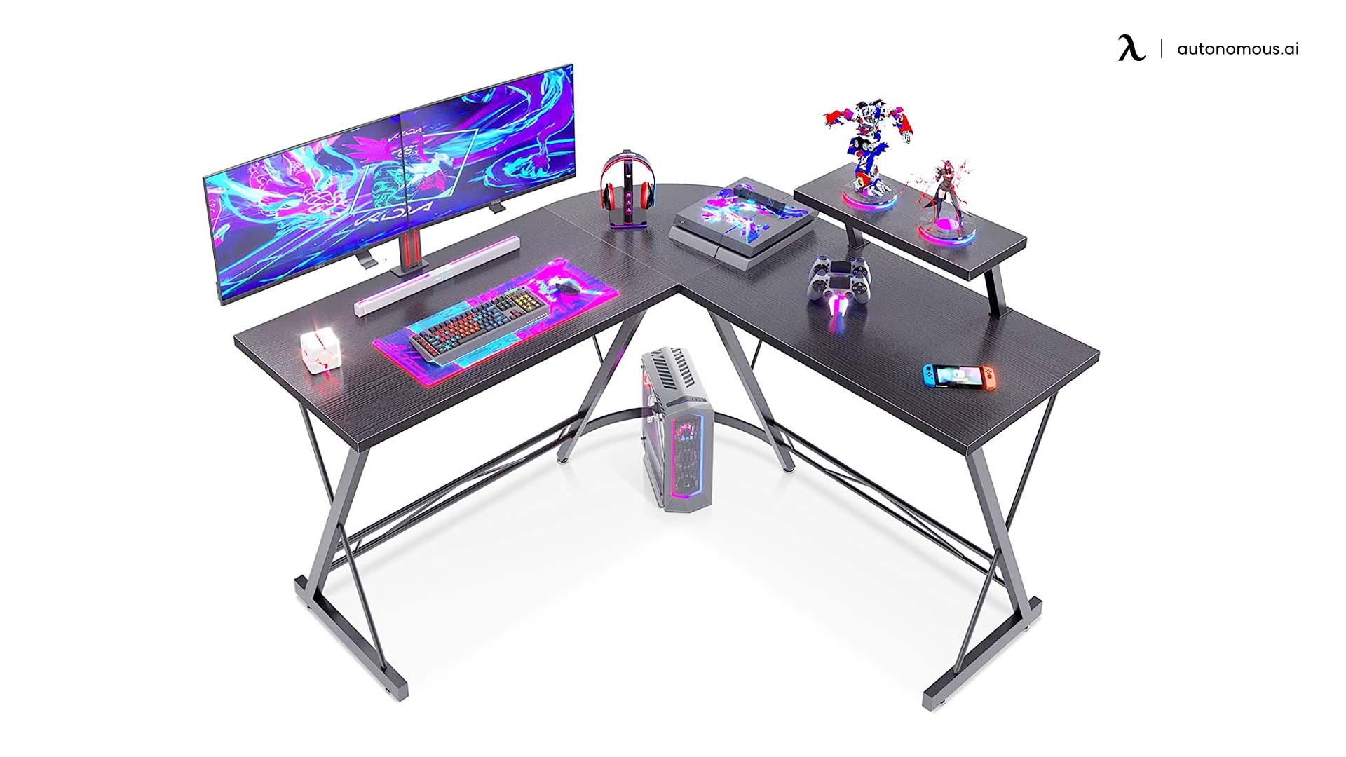 L-shaped Desk from Casaottima